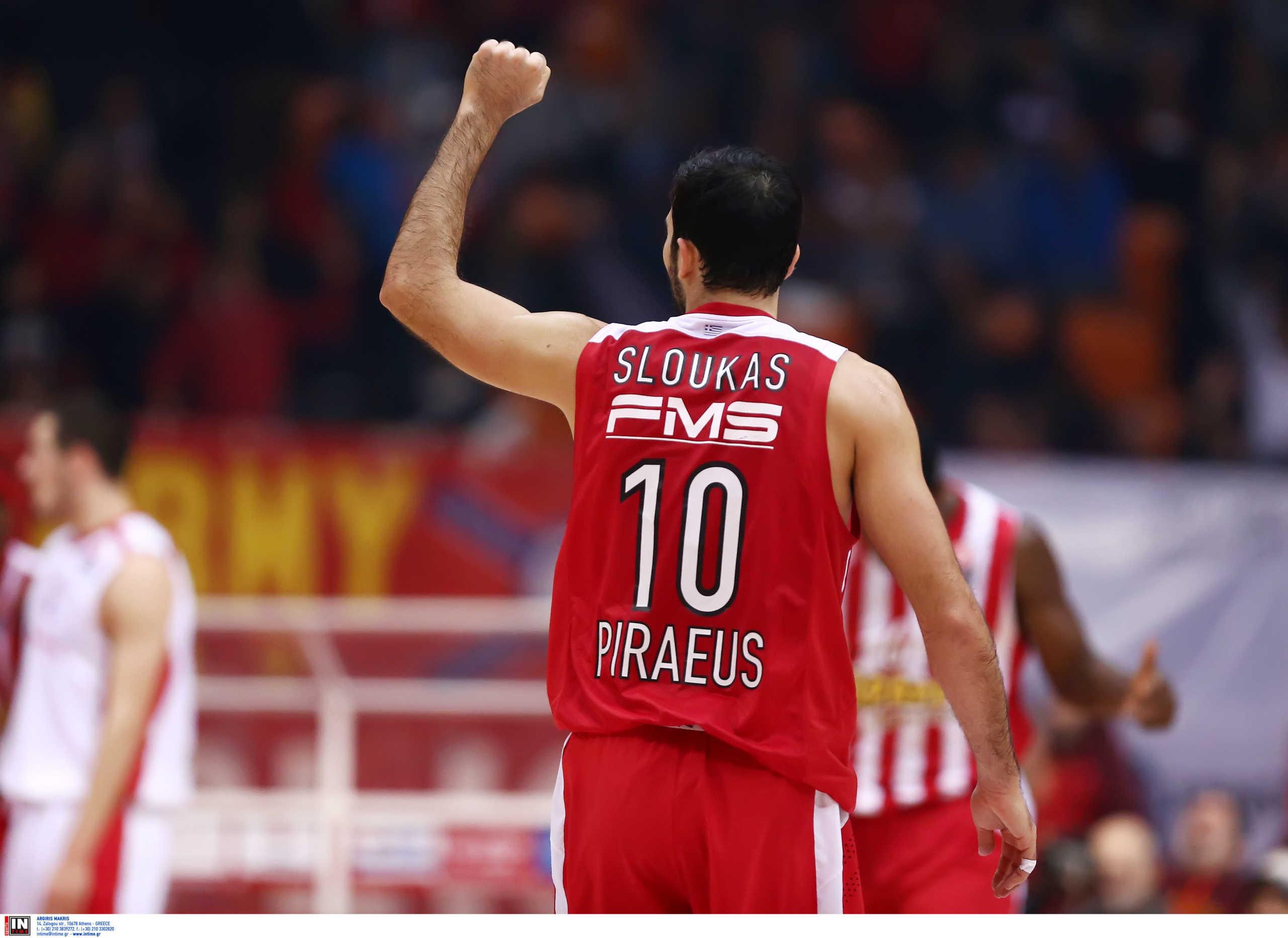 Ολυμπιακός: Ο Σλούκας ξεπέρασε τις 1000 ασίστ στη Euroleague