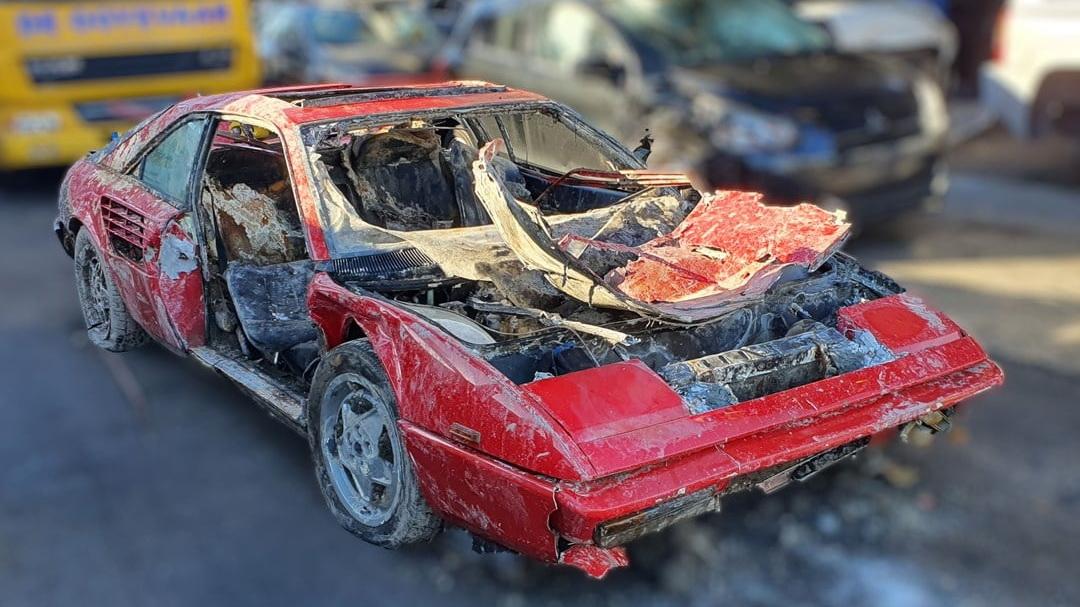 Κλεμμένη Ferrari παρέμεινε στον πυθμένα ποταμού για 26 χρόνια! [pics]