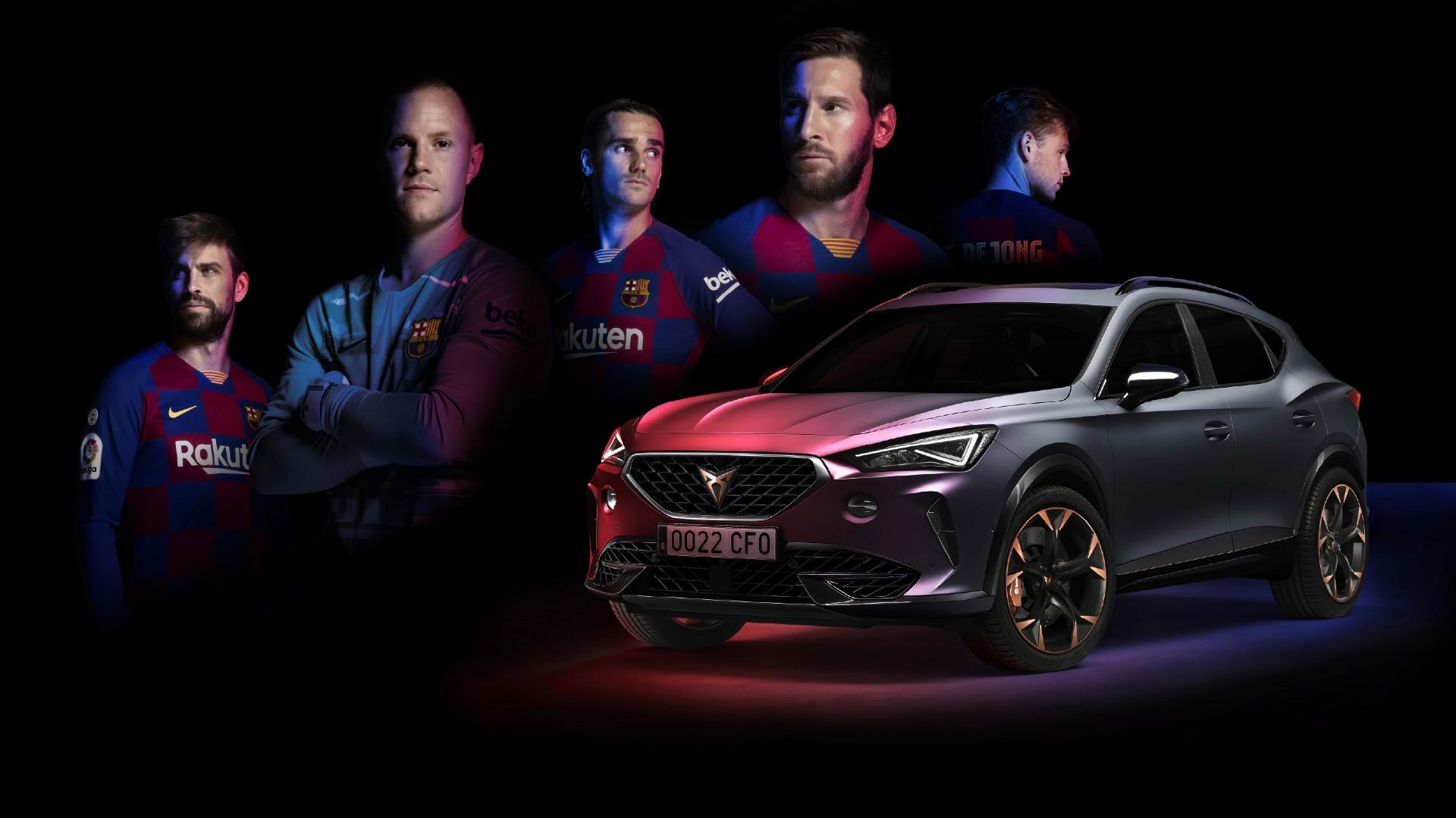 H ποδοσφαιρική ομάδα της Μπαρτσελόνα απέκτησε το δικό της αυτοκίνητο! [vid]