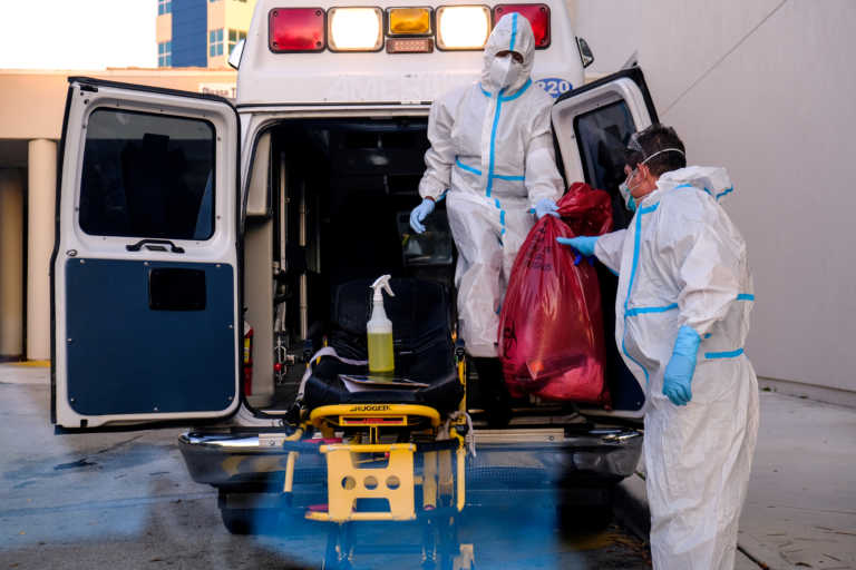 Κορονοϊός: Νέο ρεκόρ κρουσμάτων στις ΗΠΑ – Πάνω από 88.000 νέες μολύνσεις