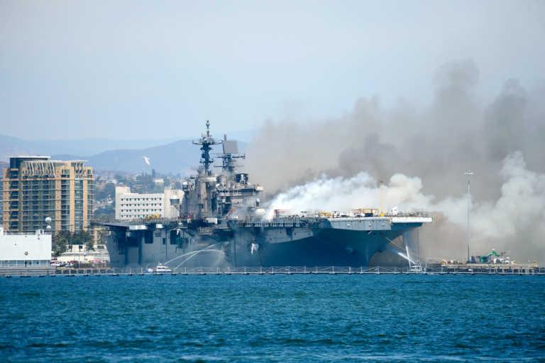 Καλιφόρνια: Έκρηξη σε πολεμικό πλοίο! Πολλοί τραυματίες -