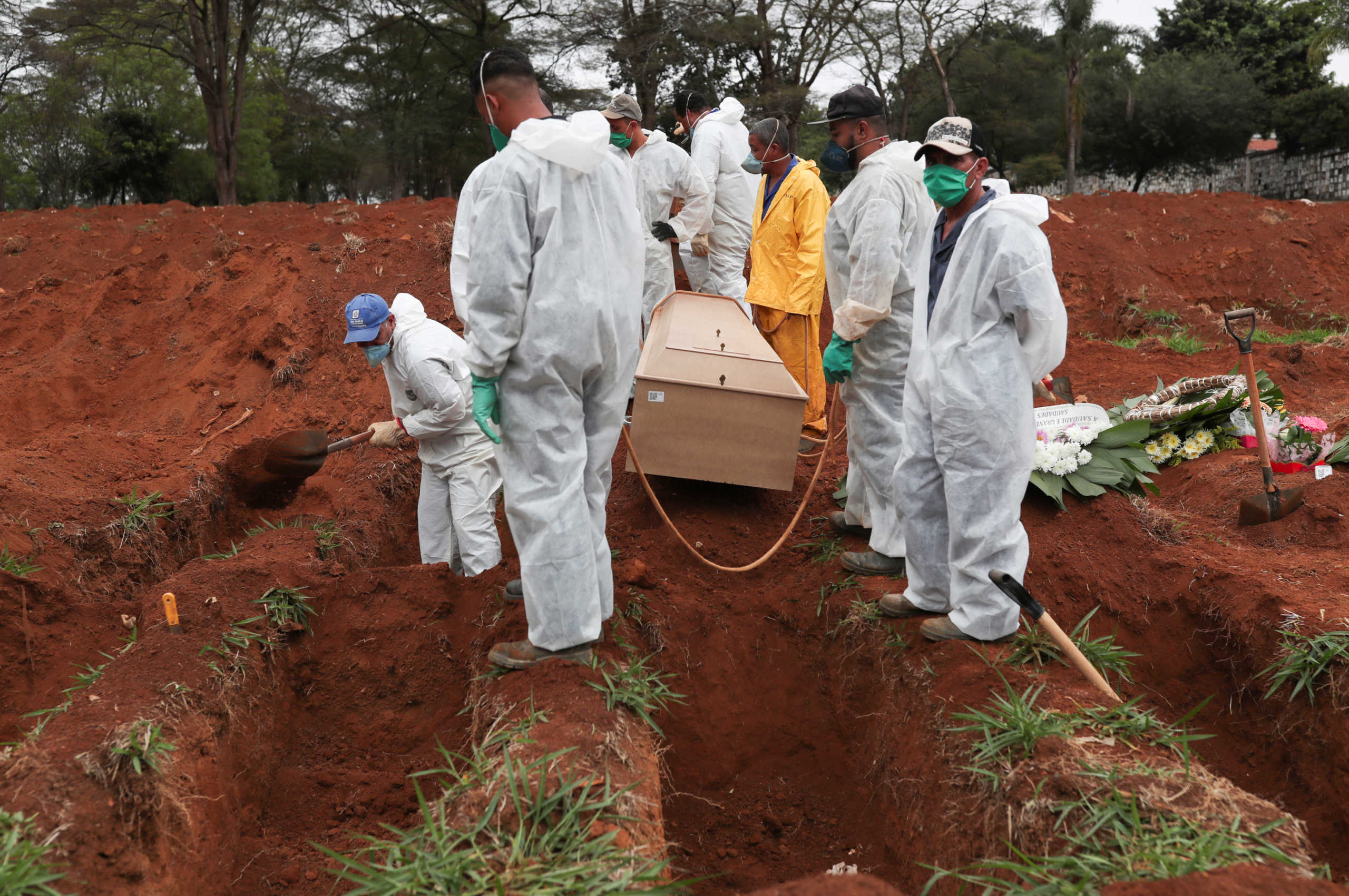 Κορονοϊός: Ακόμη 30.000 κρούσματα και 571 νεκροί στη Βραζιλία