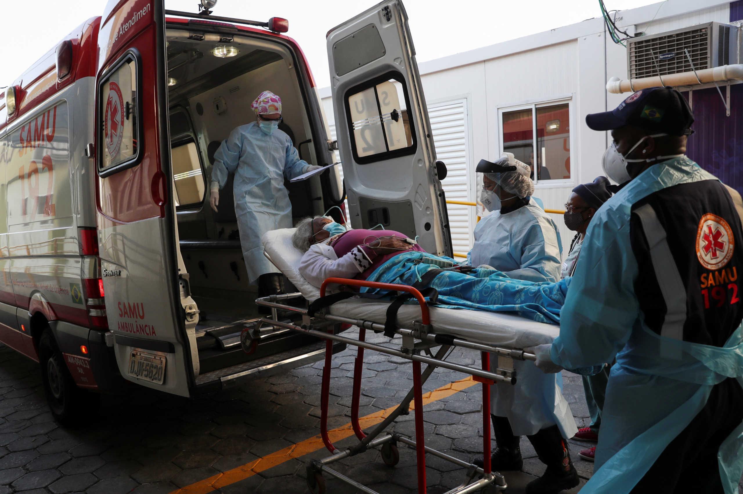 Κορονοϊός: Πάνω από 10.000 κρούσματα στη Βραζιλία και 128 νεκροί