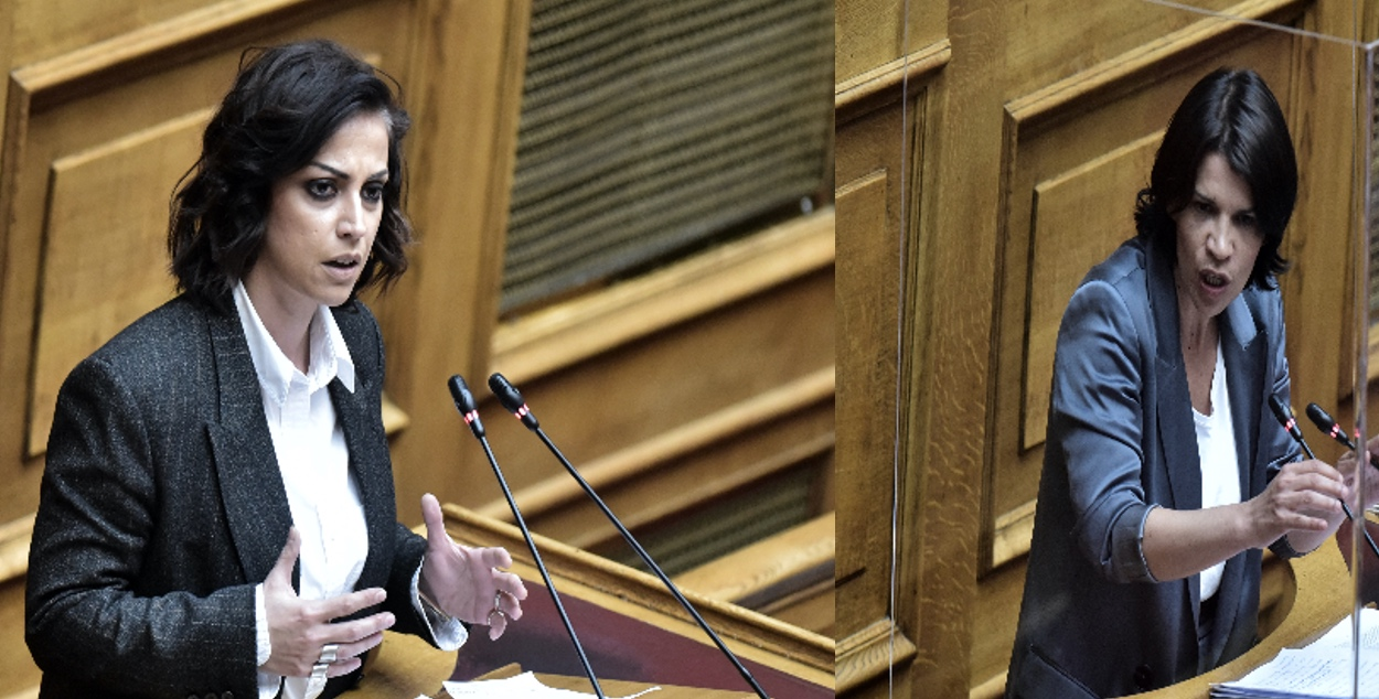 Σάλος από τις δηλώσεις 2 βουλευτών του ΣΥΡΙΖΑ – Χρηστίδου και Ελευθεριάδου έγιναν θέμα συζήτησης