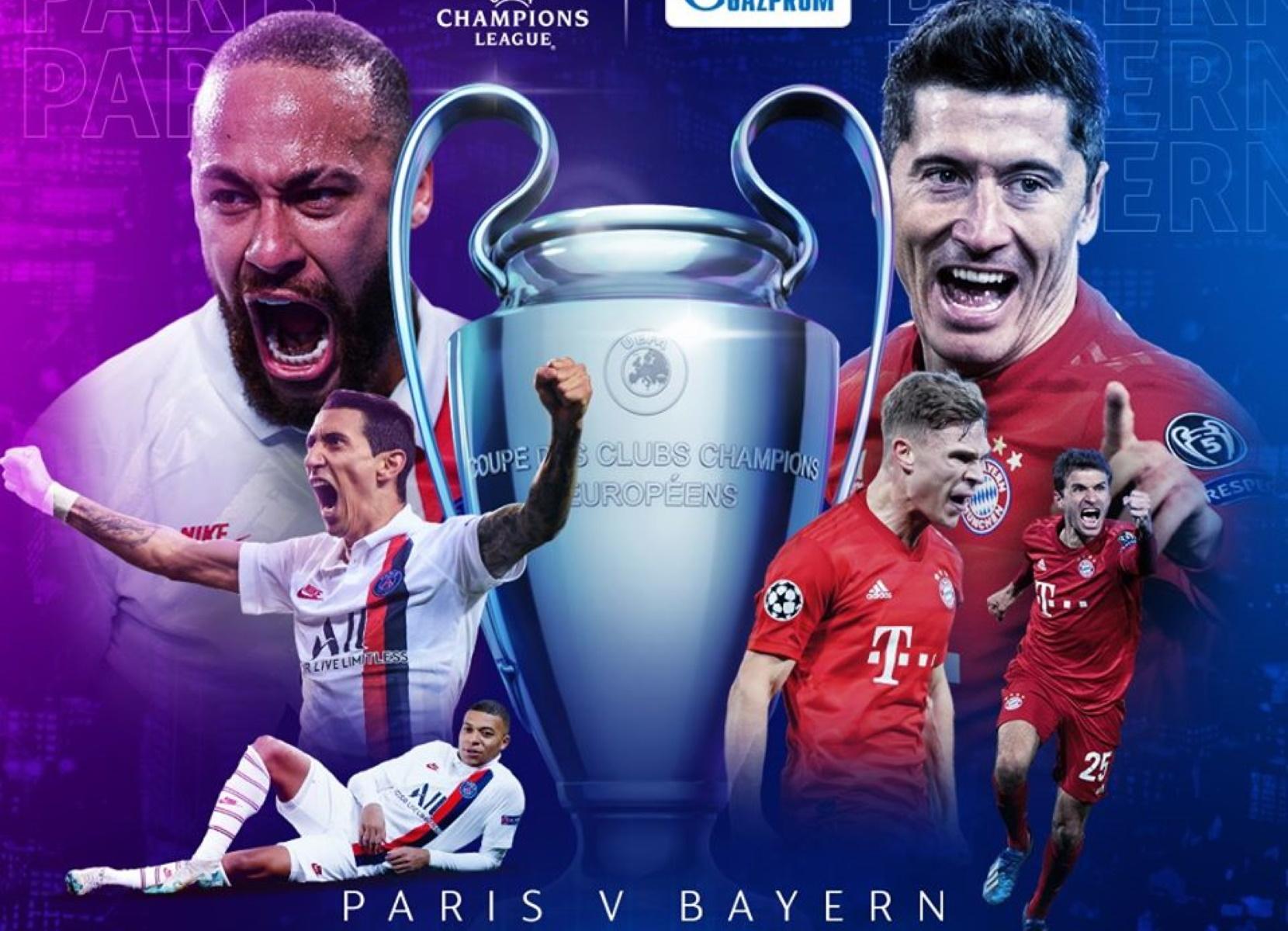 """Παρί – Μπάγερν για την κορυφή του Champions League και το """"τρεμπλ"""""""
