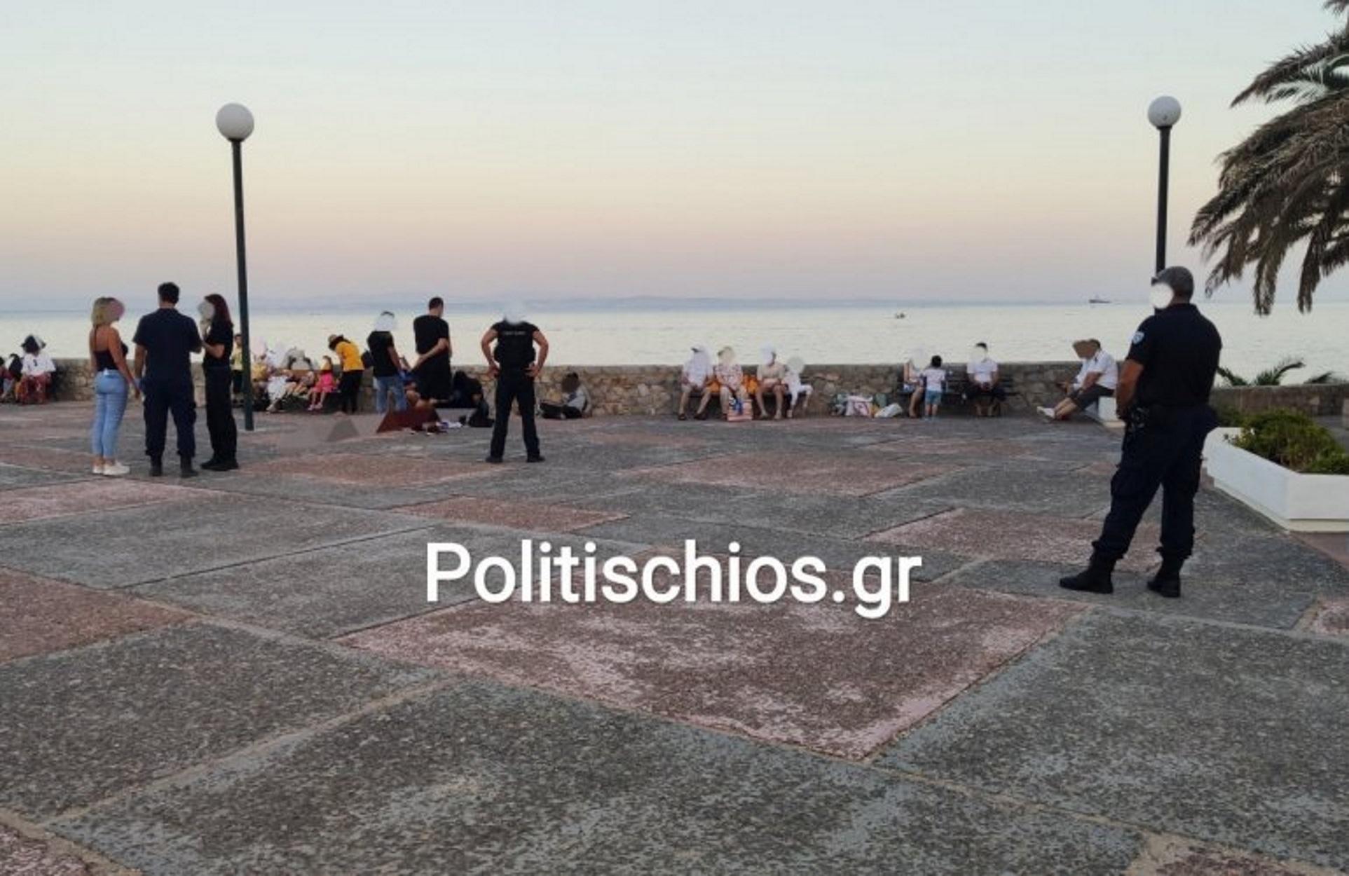 """Τούρκοι στη Χίο! """"Ζητούν πολιτικό άσυλο"""""""