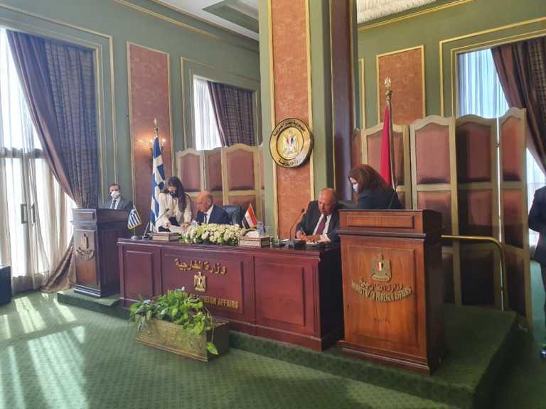 Έπεσαν οι υπογραφές για την ΑΟΖ Ελλάδας - Αιγύπτου