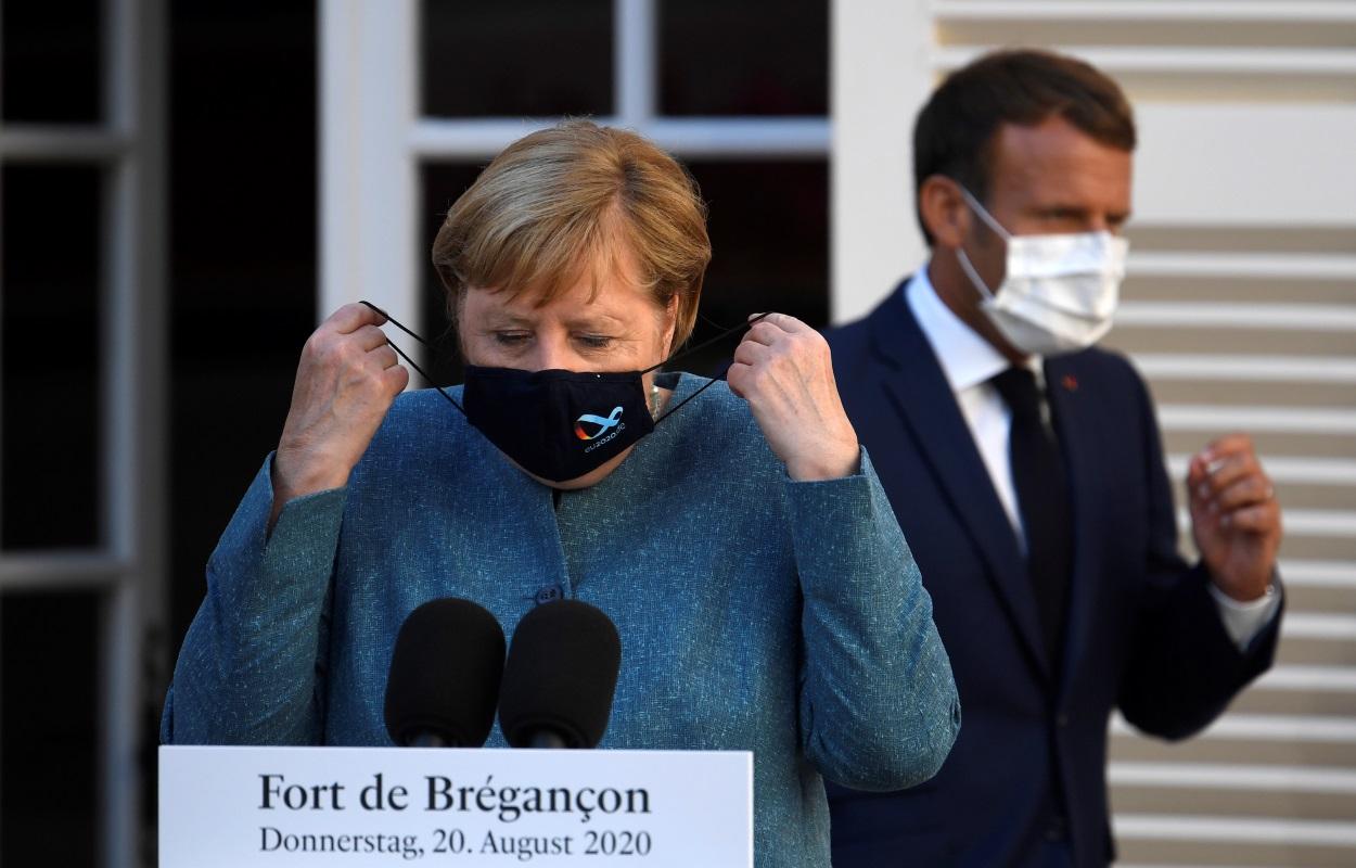 Ηχηρό μήνυμα από Μέρκελ – Μακρόν: Δεν θα γίνει ανεκτή απειλή κυριαρχίας χώρας μέλους της ΕΕ