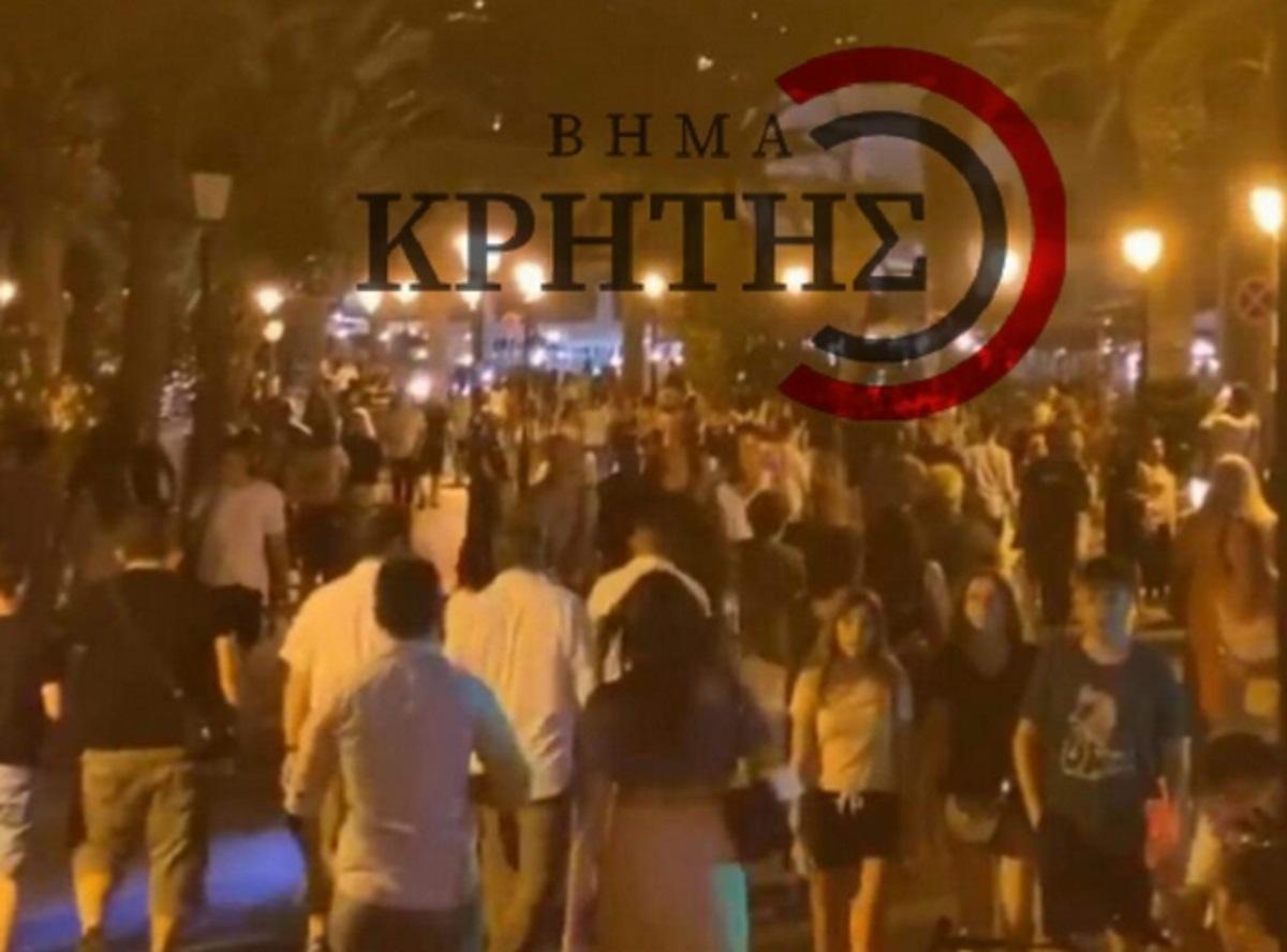 Κρήτη: Σχόλασαν τα μπαρ και έγινε… του κορονοϊού! (pics)
