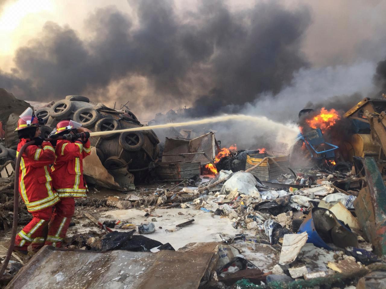 Πρόεδρος Λιβάνου: Αδύνατο η έκρηξη στο λιμάνι της Βηρυτού να πυροδοτήθηκε από αποθήκη όπλων της Χεζμπολάχ