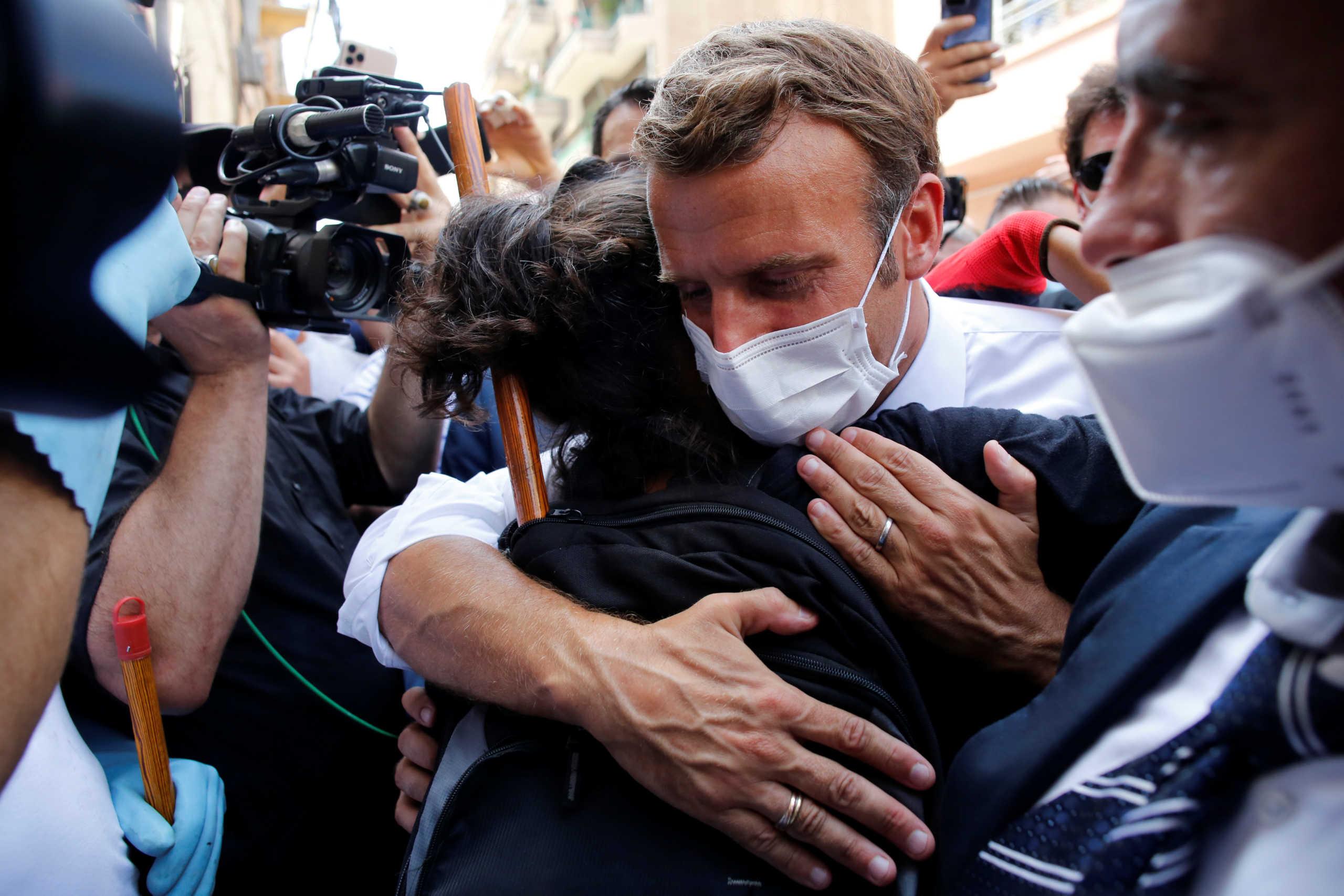 Μακρόν: Το μέλλον του Λιβάνου βρίσκεται σε κίνδυνο – Να χτίσουμε ξανά τη Βηρυτό