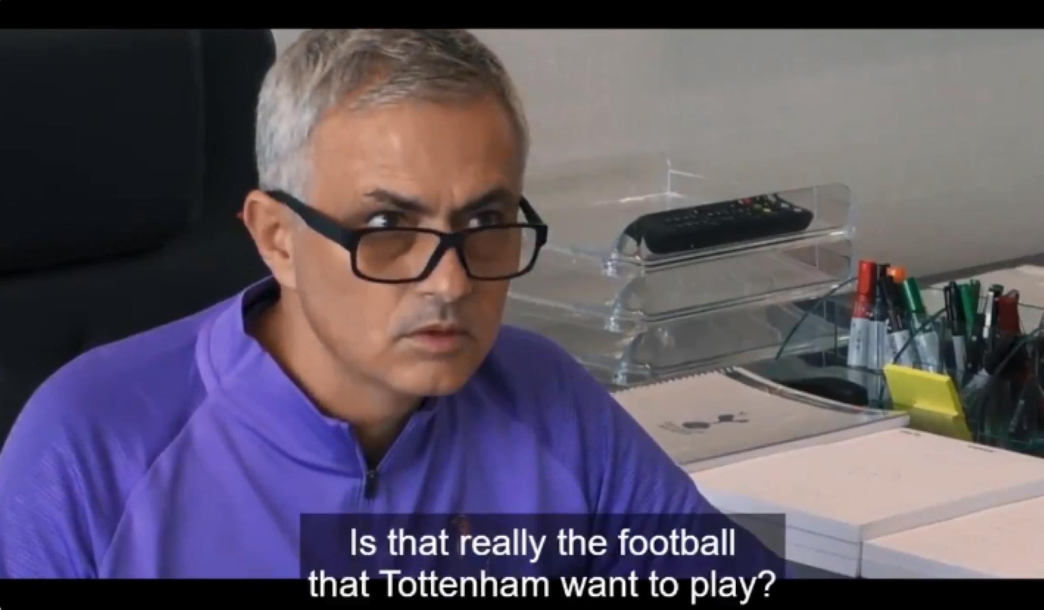 """Ο Μουρίνιο αντέδρασε με ένα """"άντε γαμ@@@@"""" στην κριτική δημοσιογράφου (video)"""