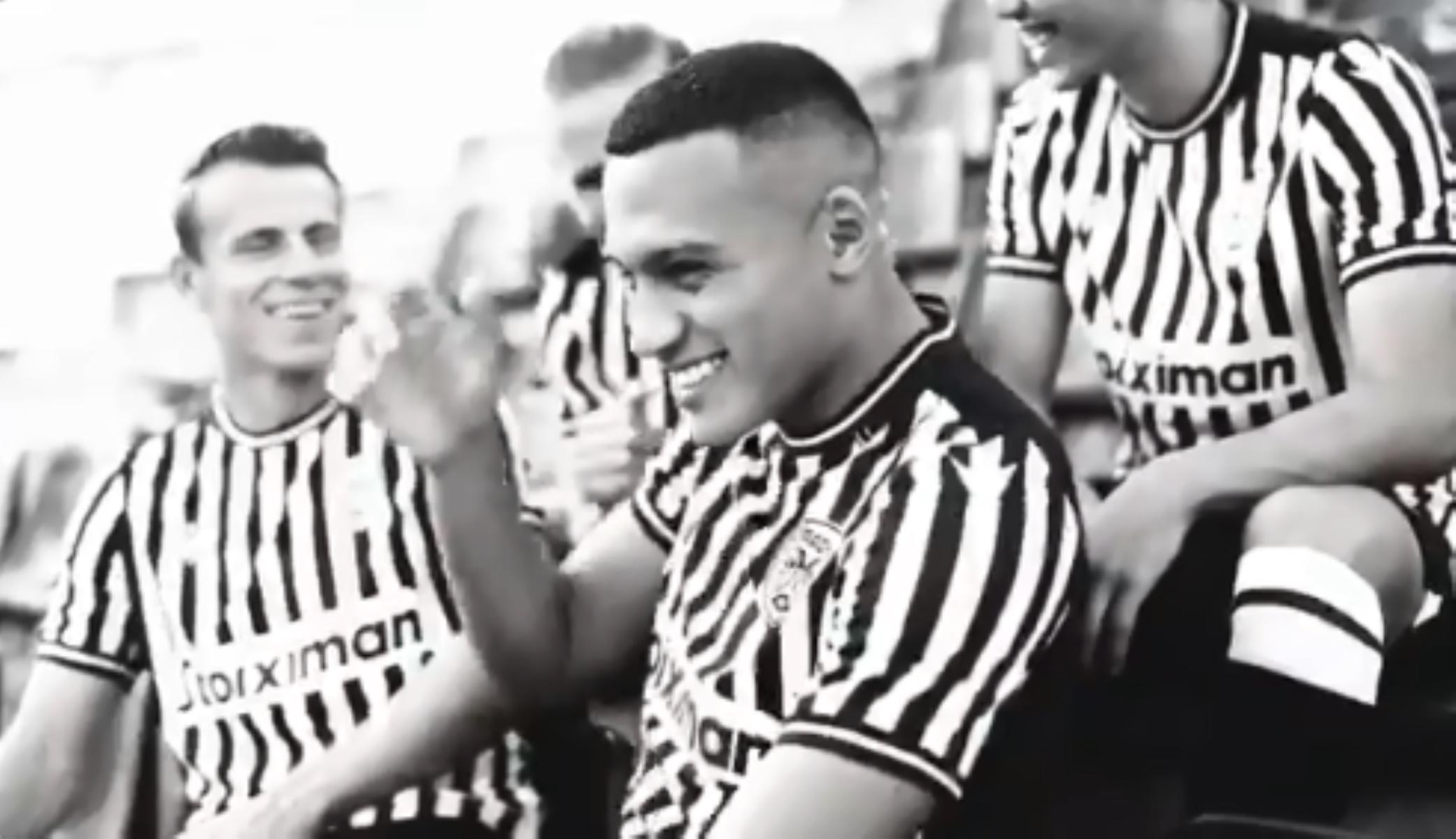 Ο ΠΑΟΚ αποκάλυψε την καινούρια του φανέλα (video)