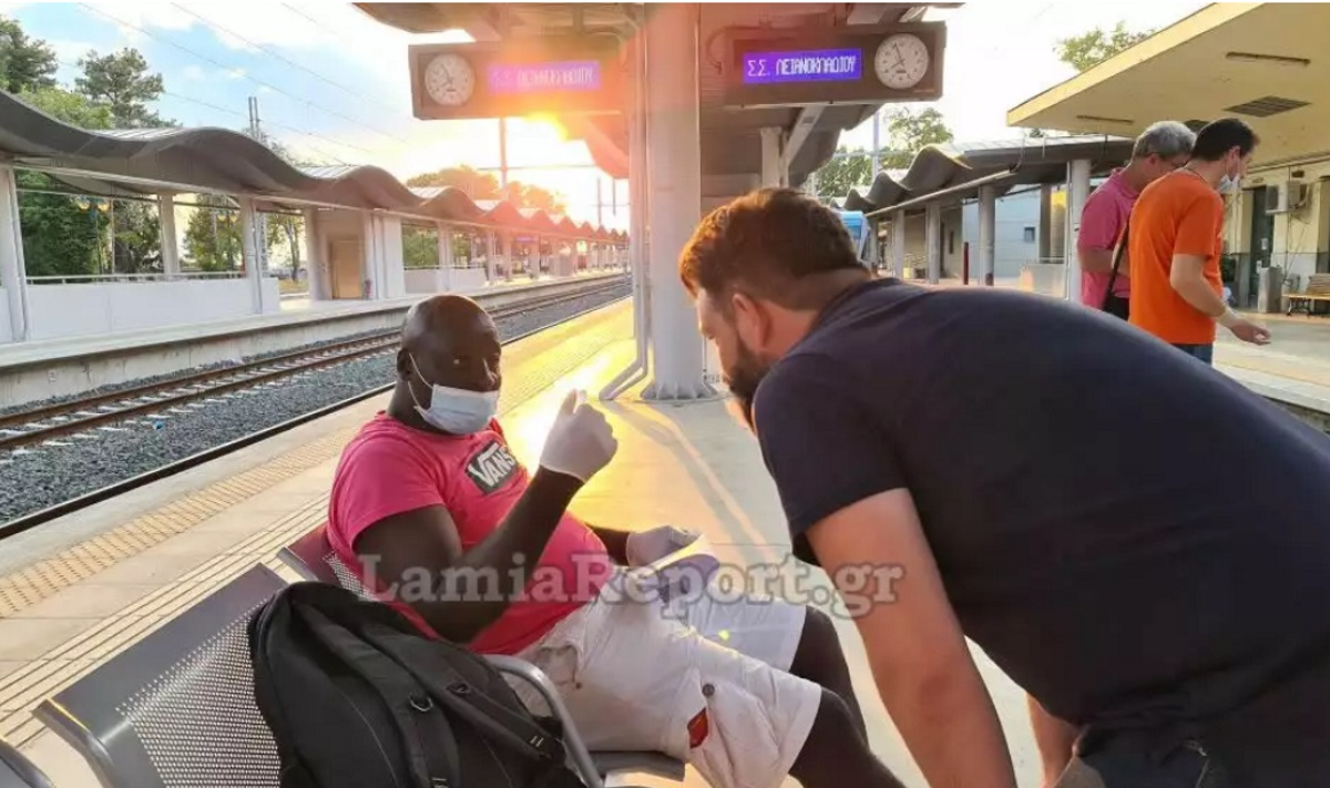 Οι εξηγήσεις της ΤΡΑΙΝΟΣΕ για τον μετανάστη από το Καμερούν που… τον κατέβασαν από το τρένο