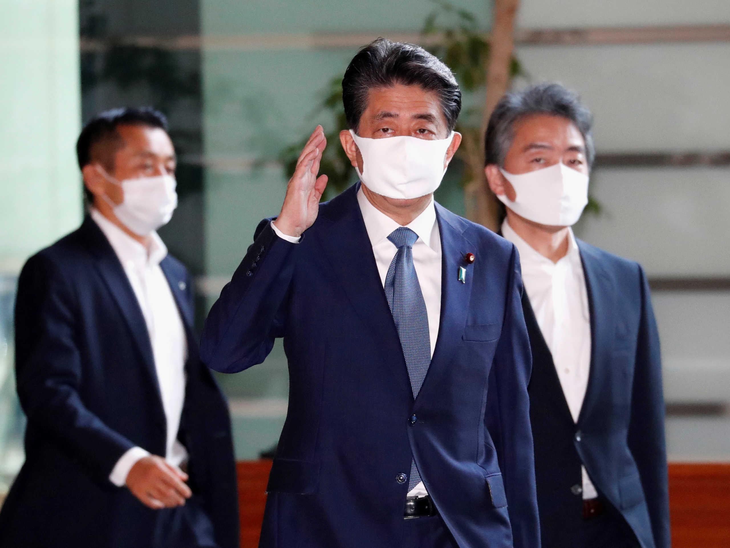 Παραιτείται ο Ιάπωνας πρωθυπουργος, Σίνζο Άμπε