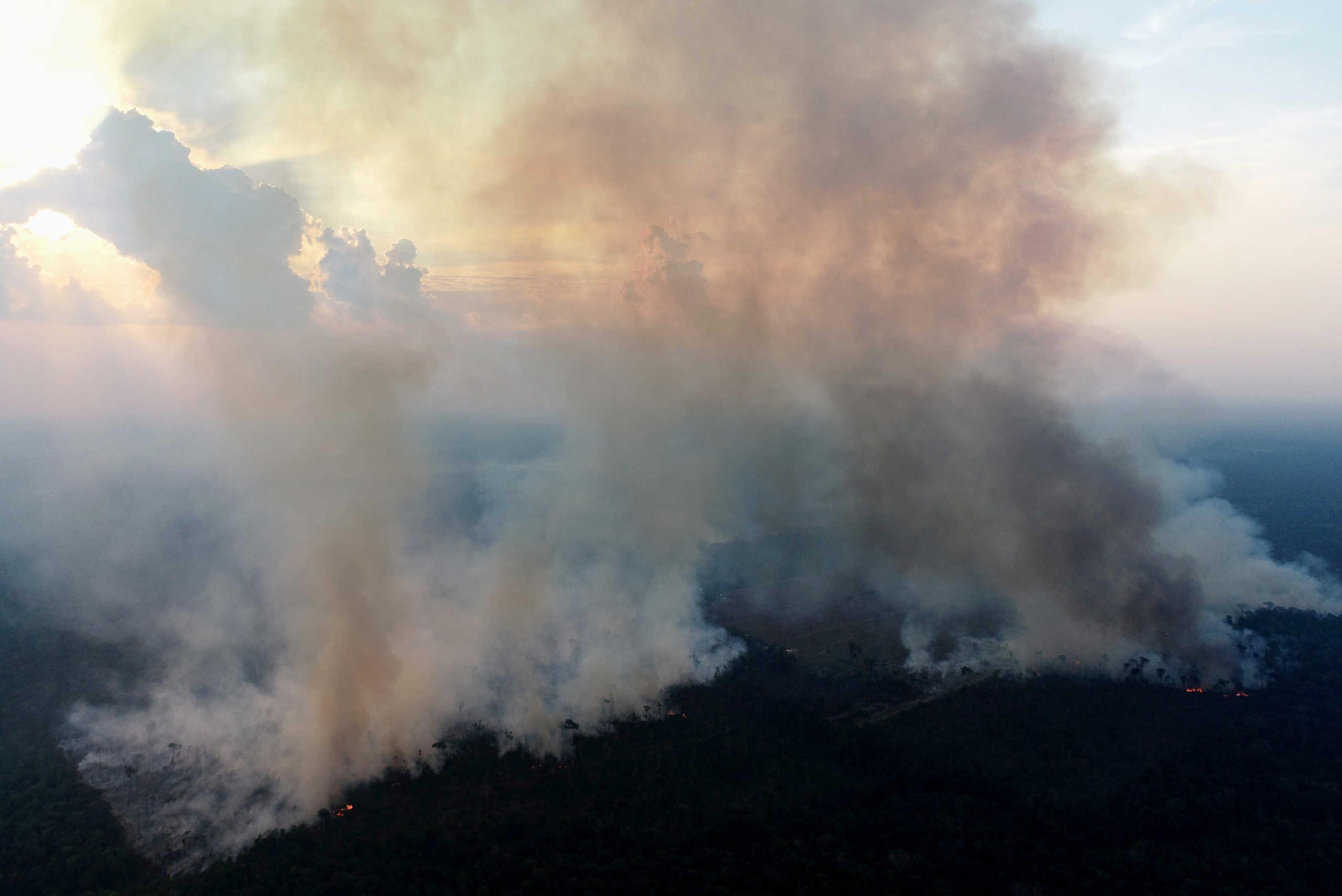 Νέα καταστροφή στον Αμαζόνιο! Φωτιές κατακαίνε τα δάση (pics)