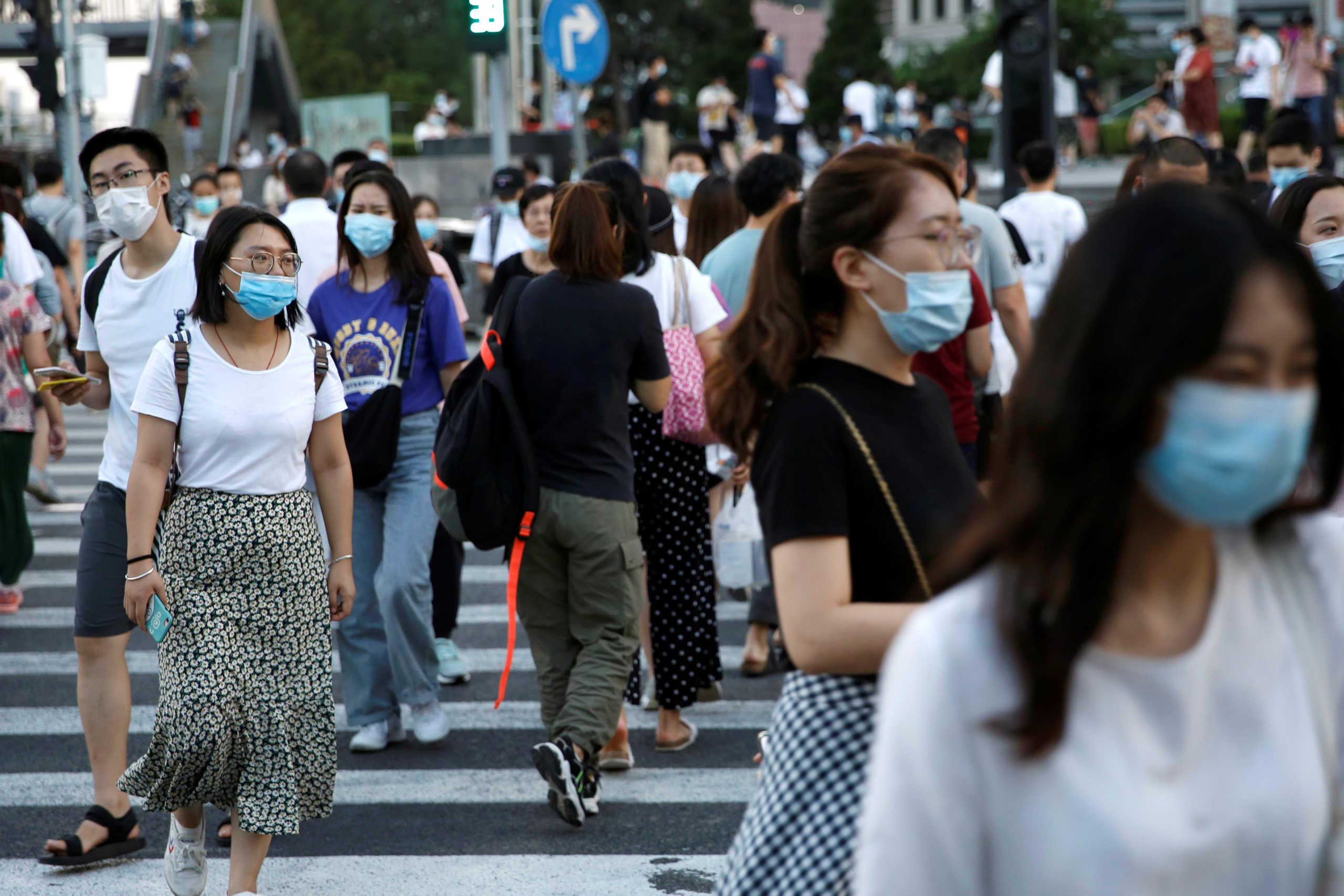 Κίνα: 8 κρούσματα το τελευταίο 24ωρο – Αυξάνονται οι ασυμπτωματικοί
