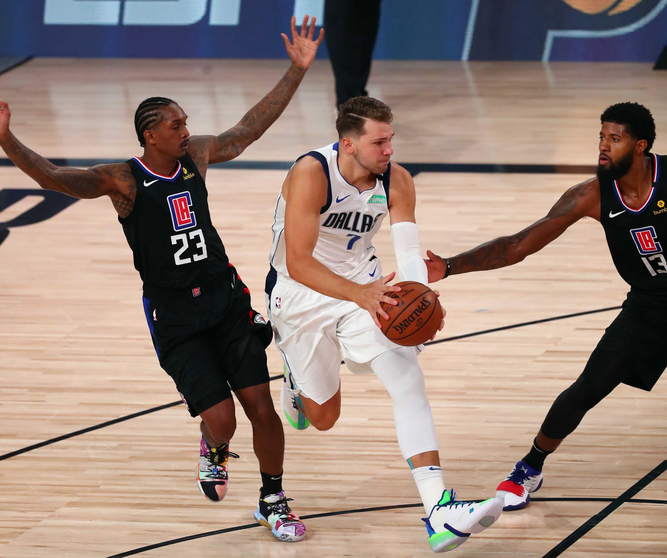 "NBA Play Off: ""Σφαλιάρα"" Ντόνσιτς στους Κλίπερς του Λέοναρντ – Προβάδισμα πρόκρισης για Σέλτικς και Ράπτορς (vids)"