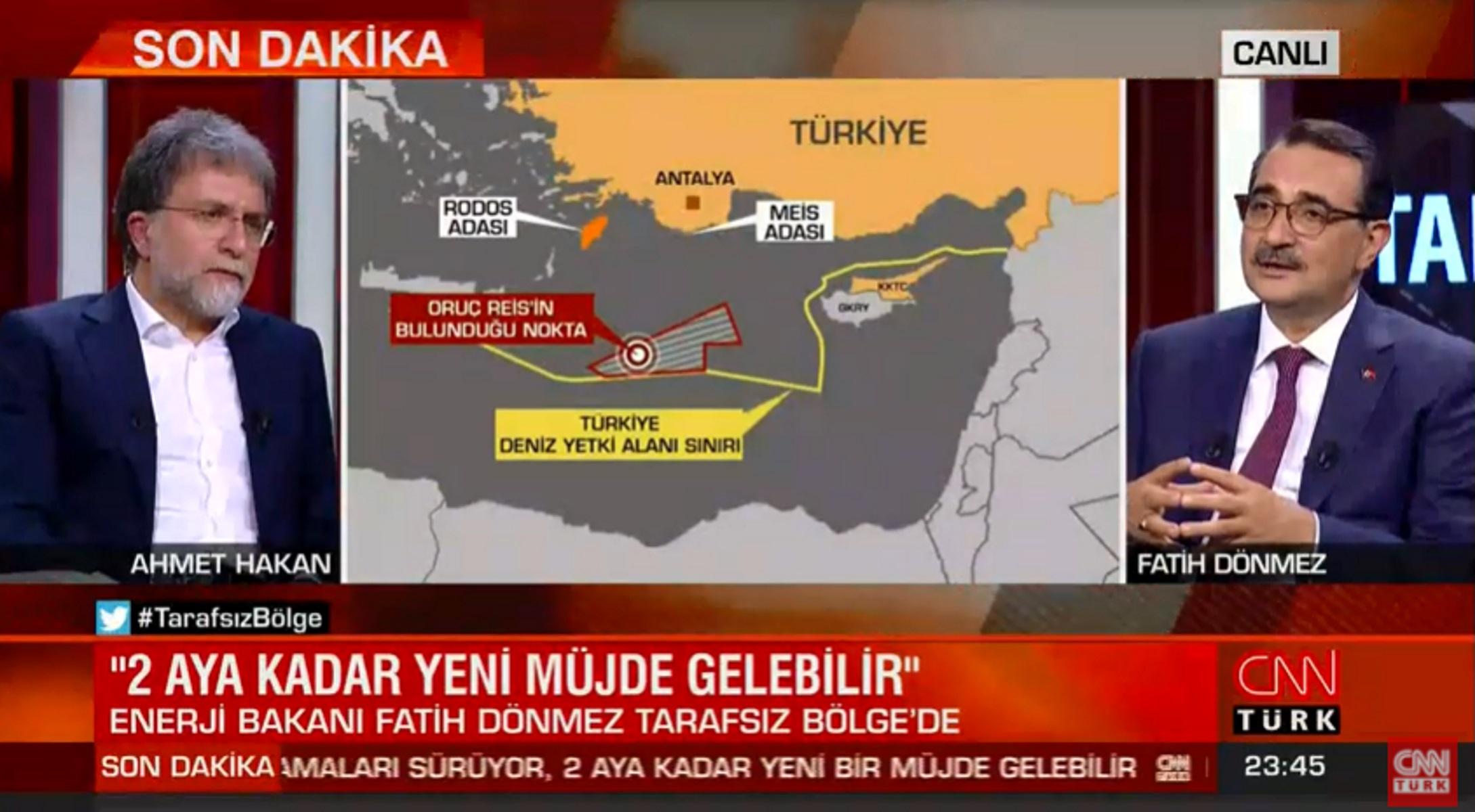 """Προκλητικός ξανά ο Ντονμέζ με """"παράνομο"""" χάρτη και νέες γεωτρήσεις στη Μεσόγειο"""