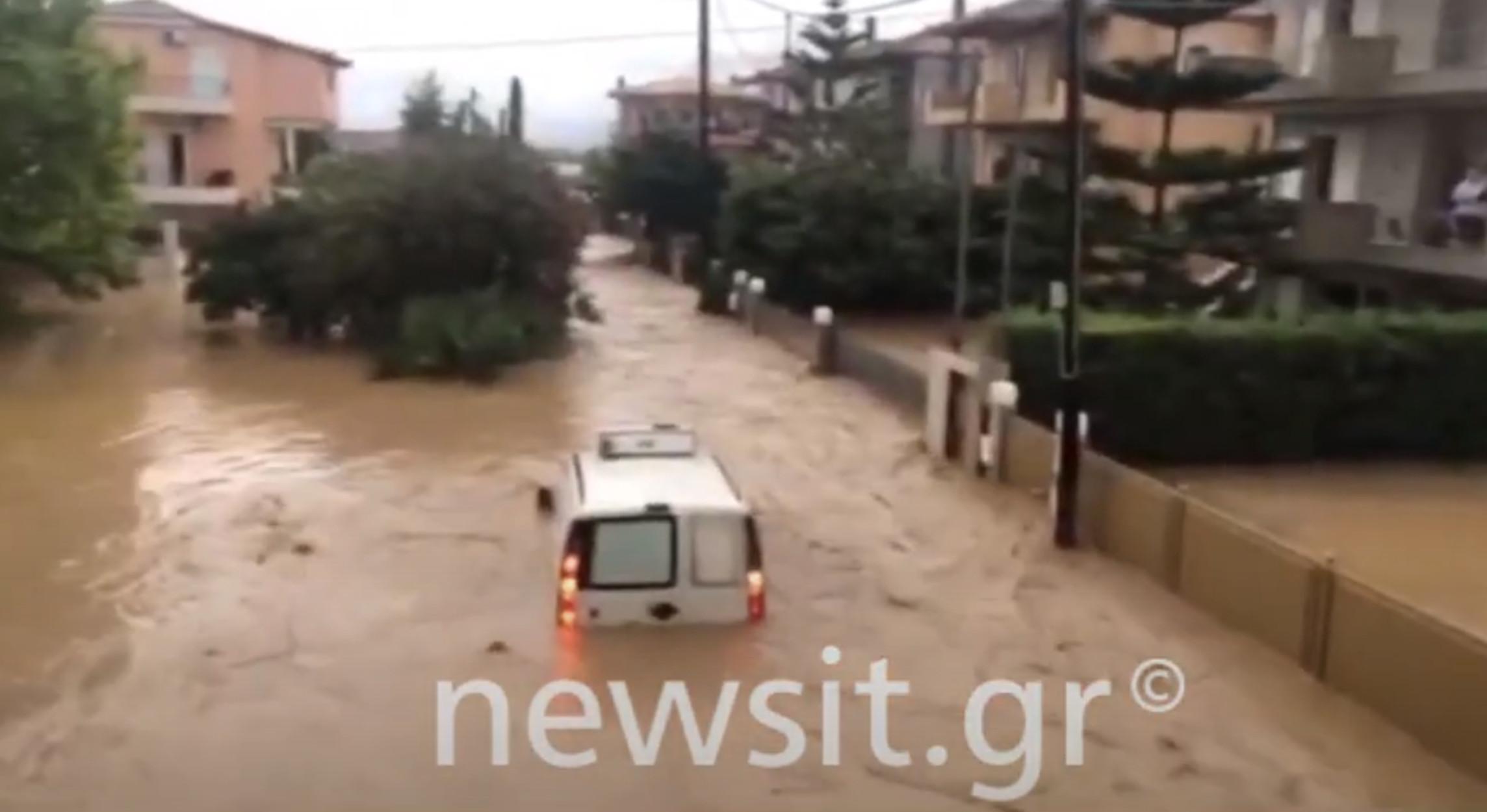 Εύβοια: Και τέταρτος νεκρός από τις τρομακτικές πλημμύρες – Στην περιοχή ο Χαρδαλιάς