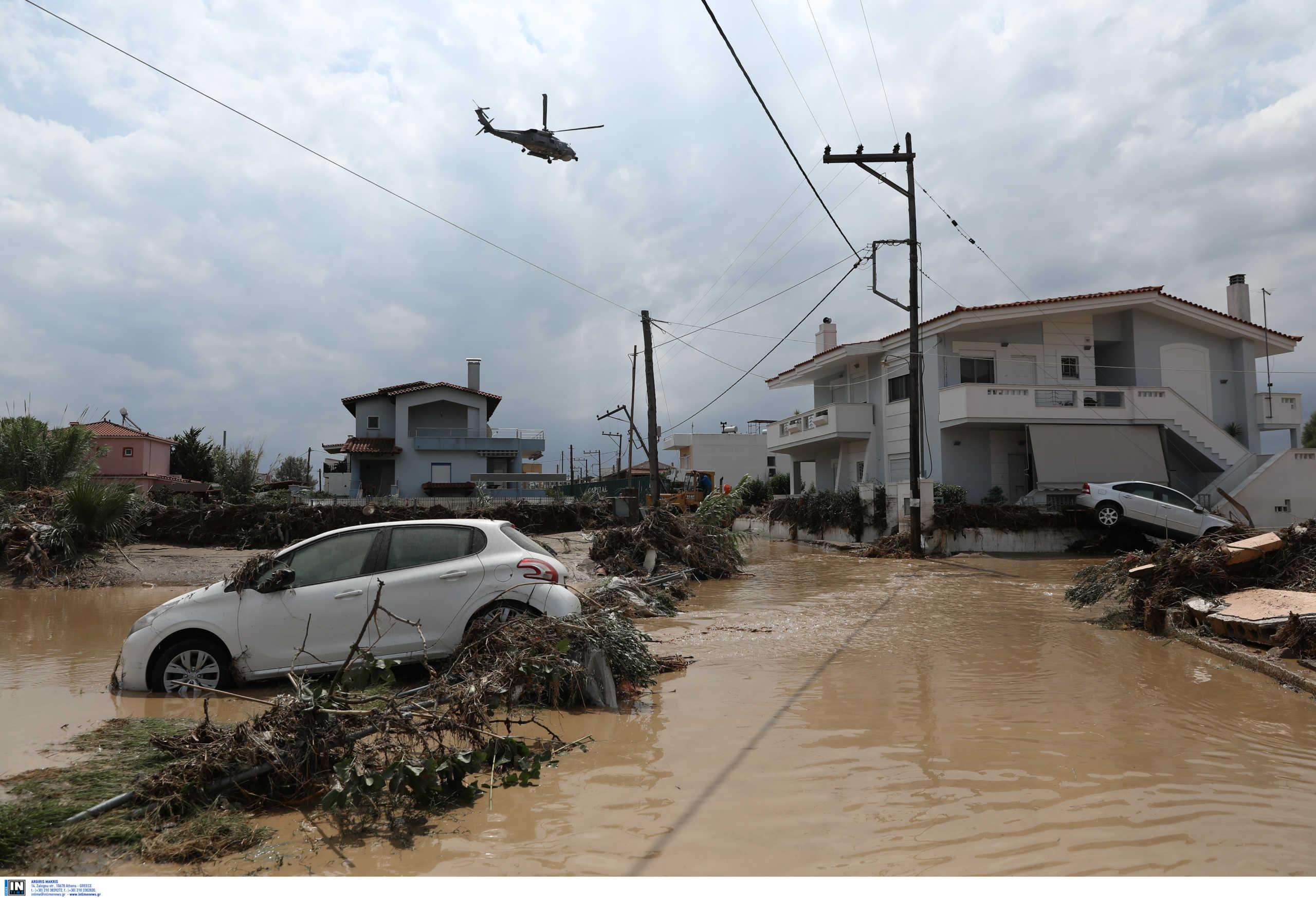 Εύβοια: Καταστροφή παντού! Στο κέντρο επιχειρήσεων ο Χρυσοχοϊδης, σύσκεψη στα Βασιλικά υπό τον Χαρδαλιά (pics, video)