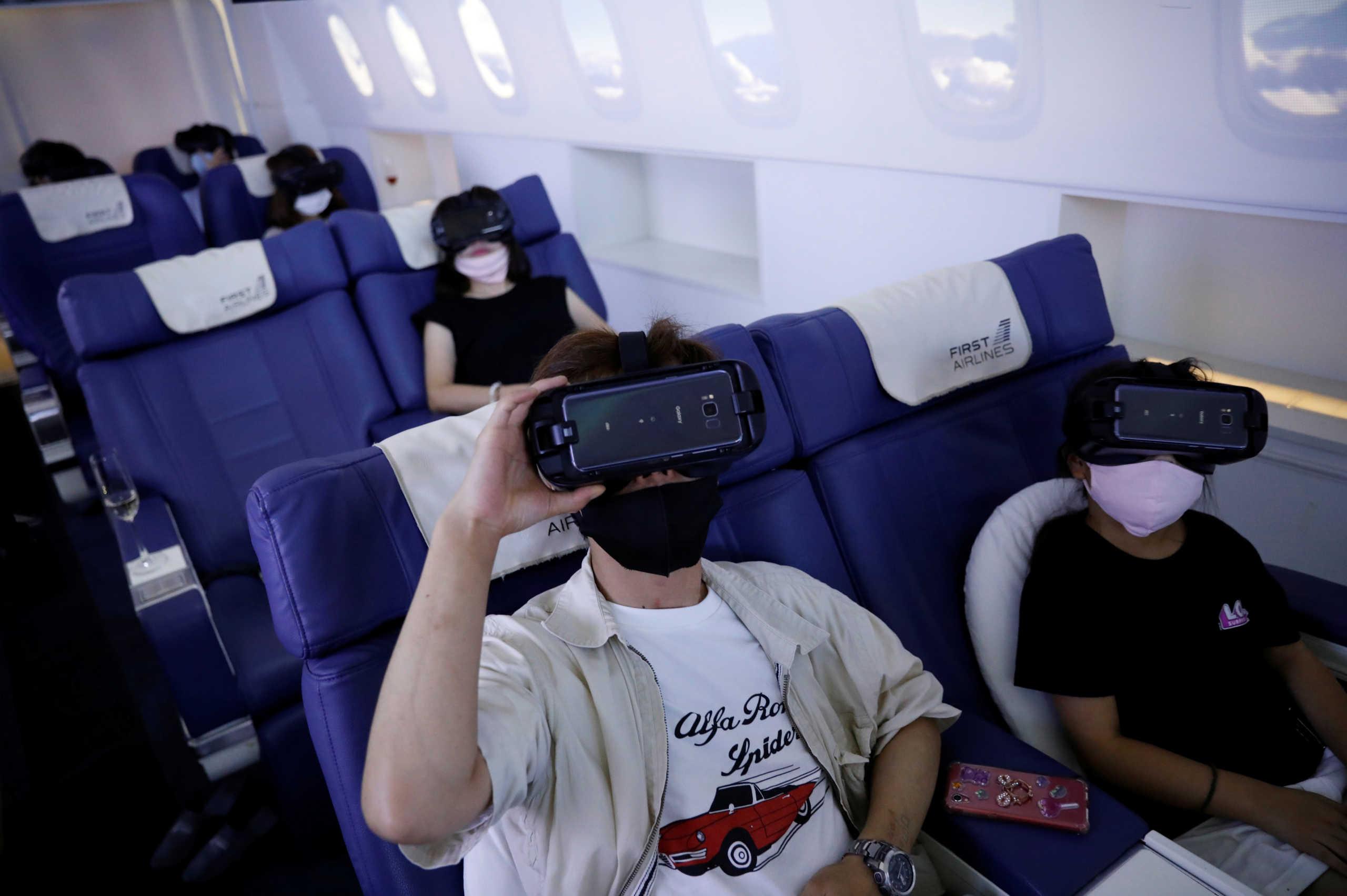 Διακοπές χωρίς να μετακινηθούν για τους Ιάπωνες χάρη στην τεχνολογία εικονικής πραγματικότητας