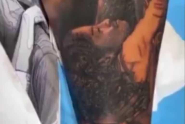Φοβερό τατουάζ με τον Κόμπι και την κόρη του από πρώην συμπαίκτη του στους Λέικερς (pics, vid)