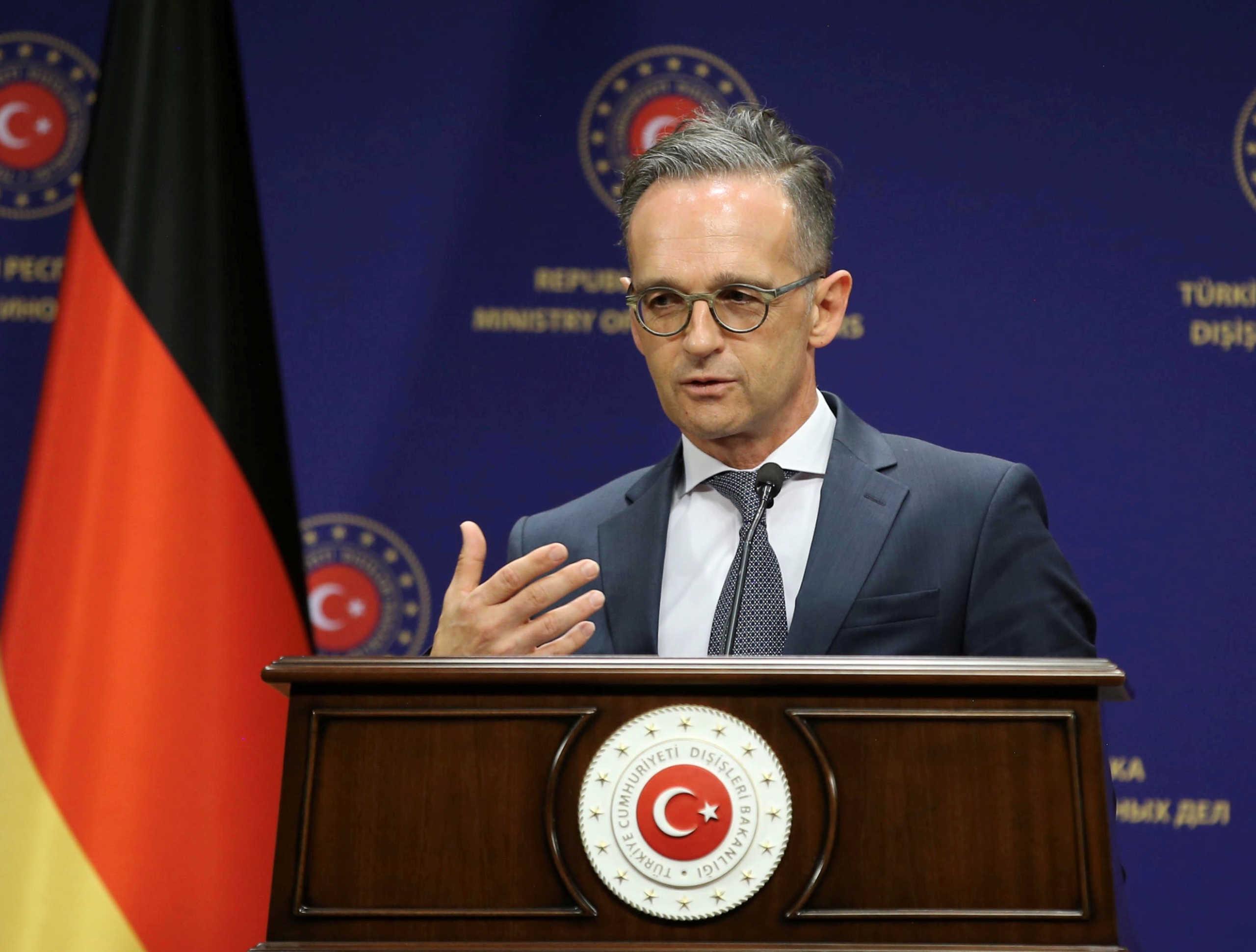 Προάγγελος Μάας για κυρώσεις στην Τουρκία: Υπερβολικά πολλές προκλήσεις, θα μιλήσουμε για συνέπειες