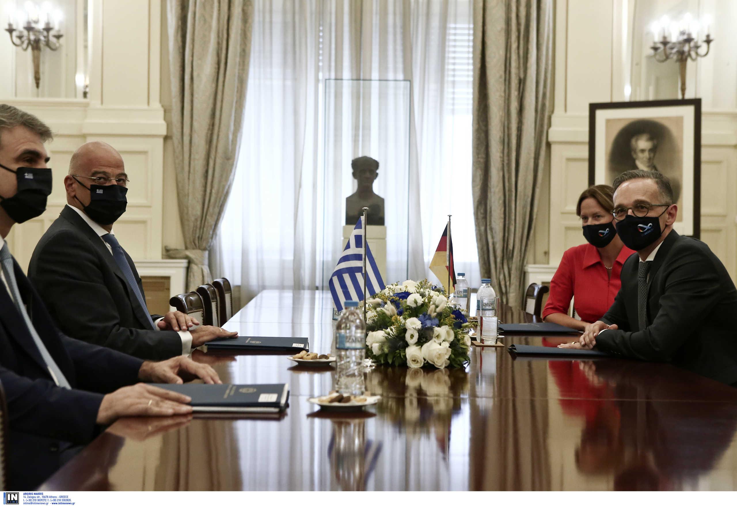 Χάικο Μάας: Είμαστε στο πλευρό της Ελλάδας – Μια σπίθα μπορεί να οδηγήσει σε καταστροφή