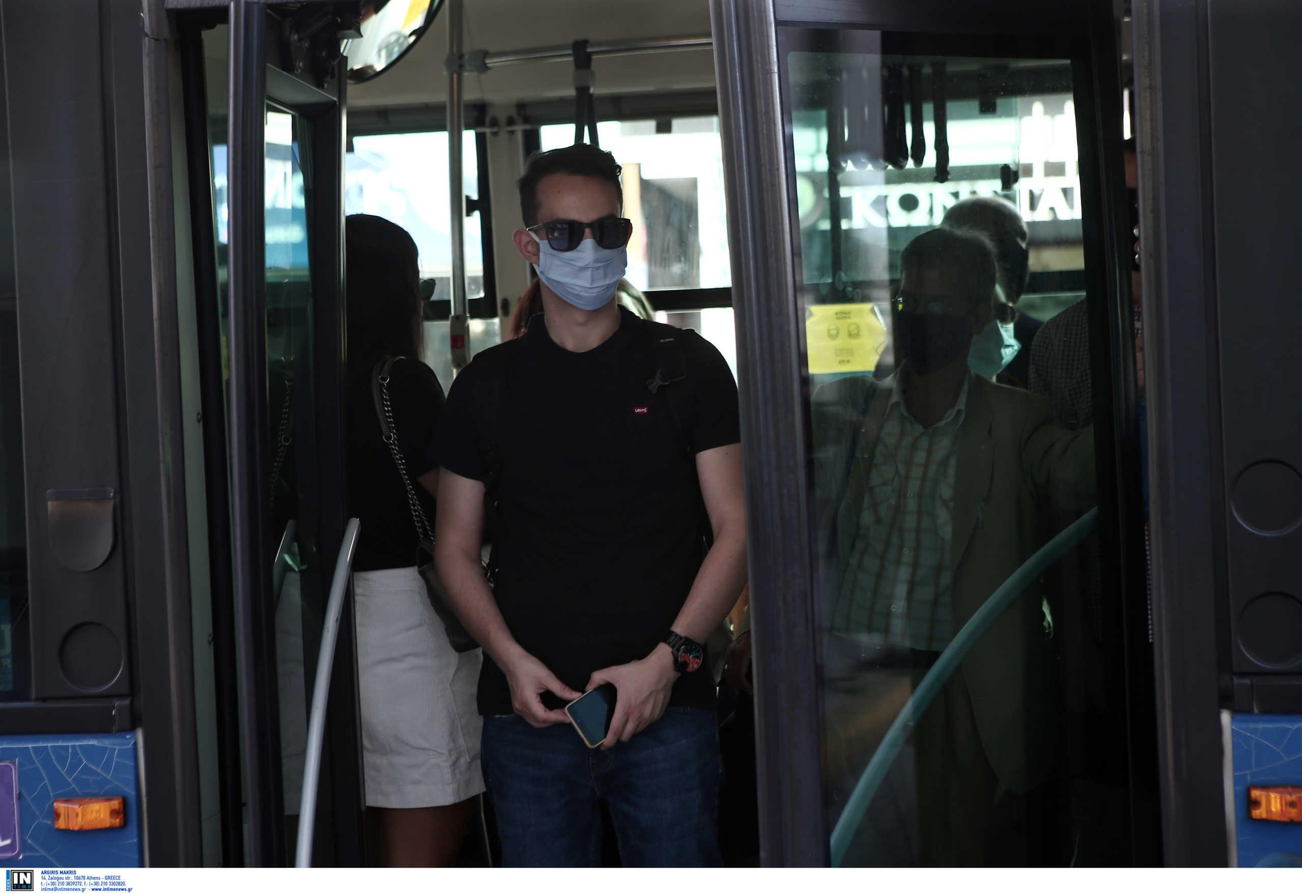 Κορονοϊός: Πάνω από 1.000 ελέγχους σε λεωφορεία έκανε το Σάββατο η Τροχαία Αττικής
