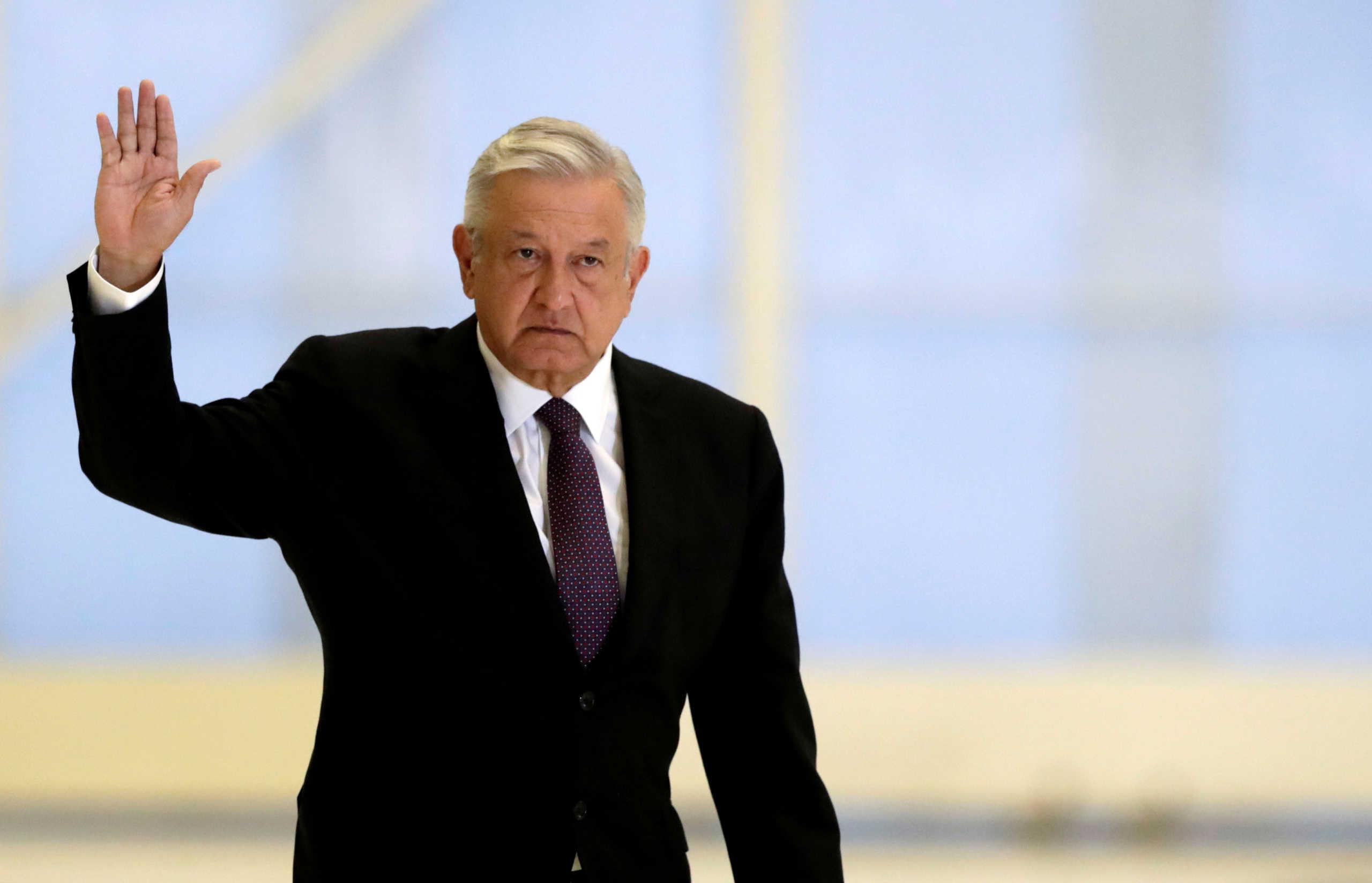 «Ατρόμητος» ο πρόεδρος του Μεξικού, θα κάνει το εμβόλιο της AstraZeneca