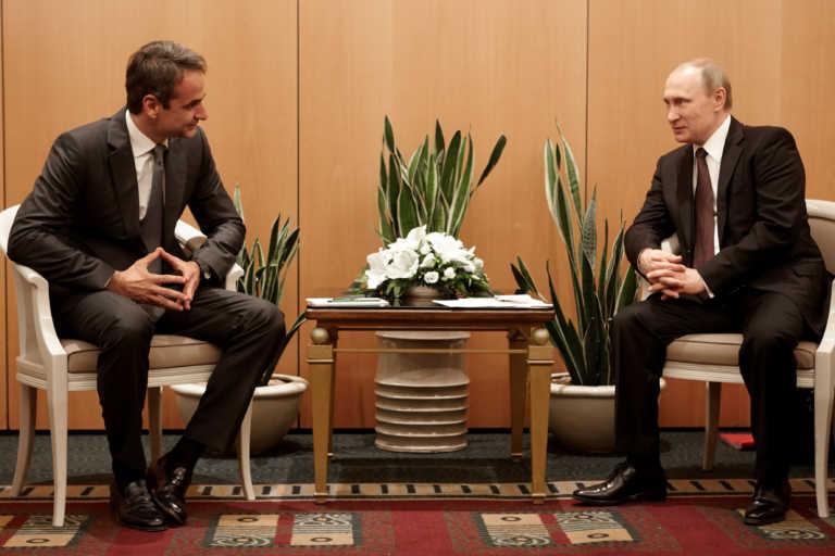 Σεισμός στη Σάμο: Συλλυπητήρια Πούτιν στον Μητσοτάκη για τα φονικά ρίχτερ