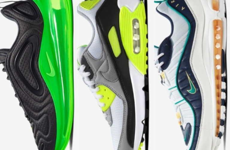 Τα 12 καλύτερα Nike Air Max που κυκλοφορούν αυτή την στιγμή