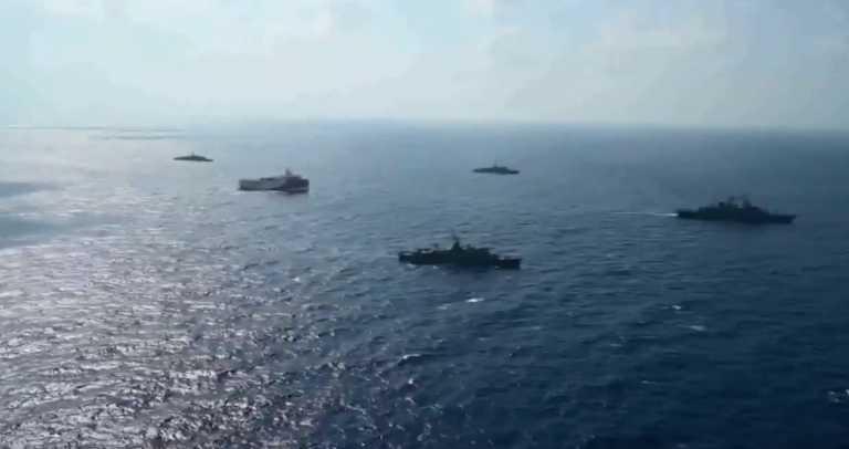 Με... Γαλάζια Πατρίδα η νέα τουρκική προπαγάνδα με βίντεο του Oruc Reis!