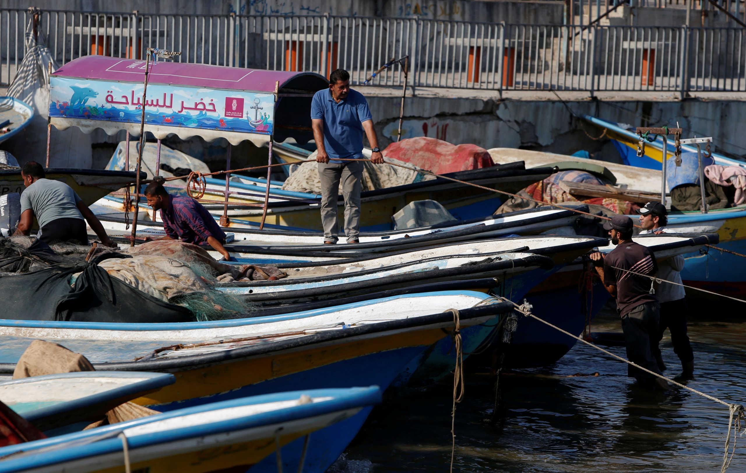 Λωρίδα της Γάζας: Το Ισραήλ απαγορεύει στους Παλαιστινίους να ψαρέψουν (pics)