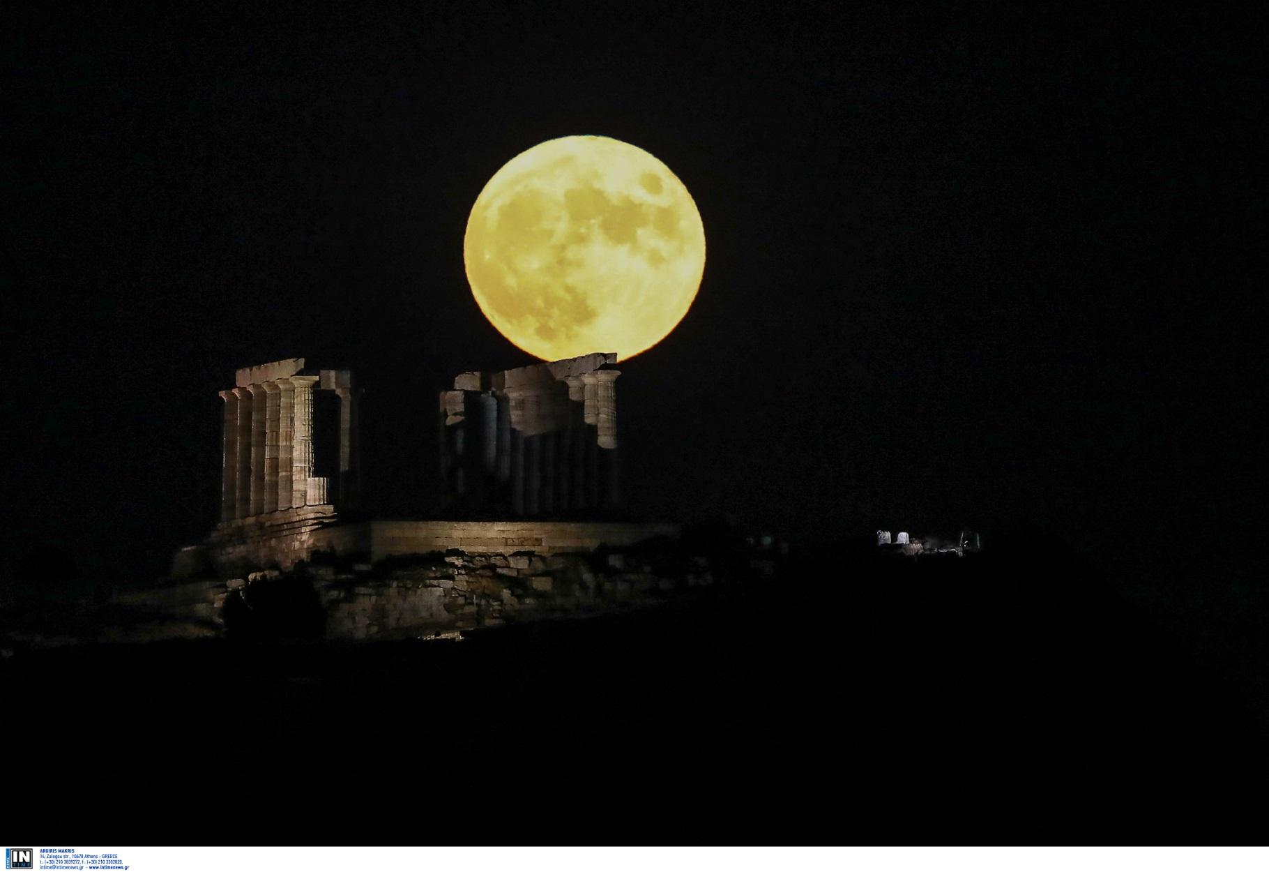 Αυγουστιάτικη Πανσέληνος: Καθηλώνουν οι πρώτες εικόνες από το ολόγιομο φεγγάρι