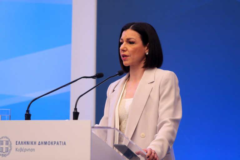 Η Αριστοτελία Πελώνη νέα κυβερνητική εκπρόσωπος