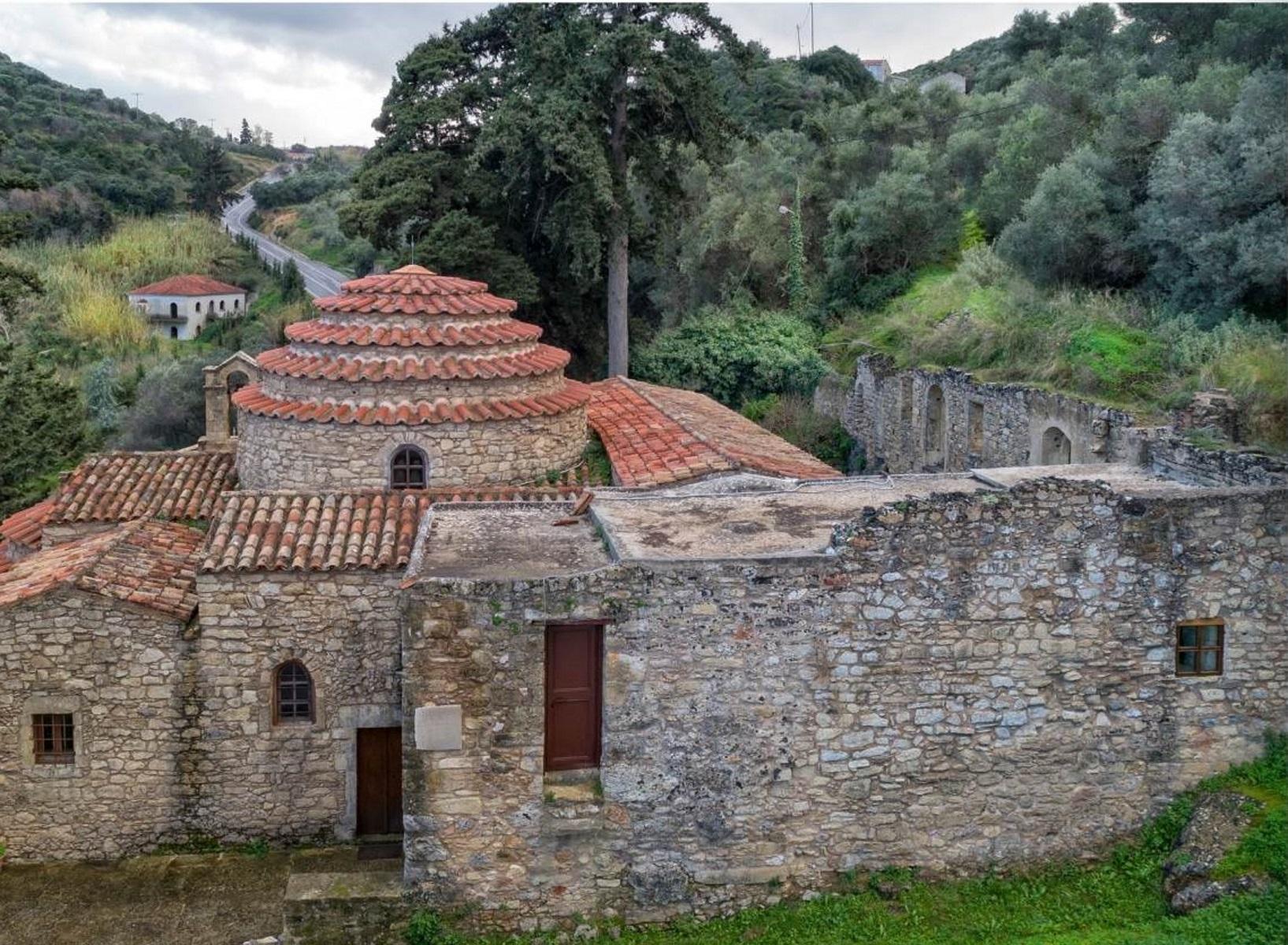 Χανιά: Ο επισκέψιμος παλαιοχριστιανικός Ναός του 6ου Αιώνα