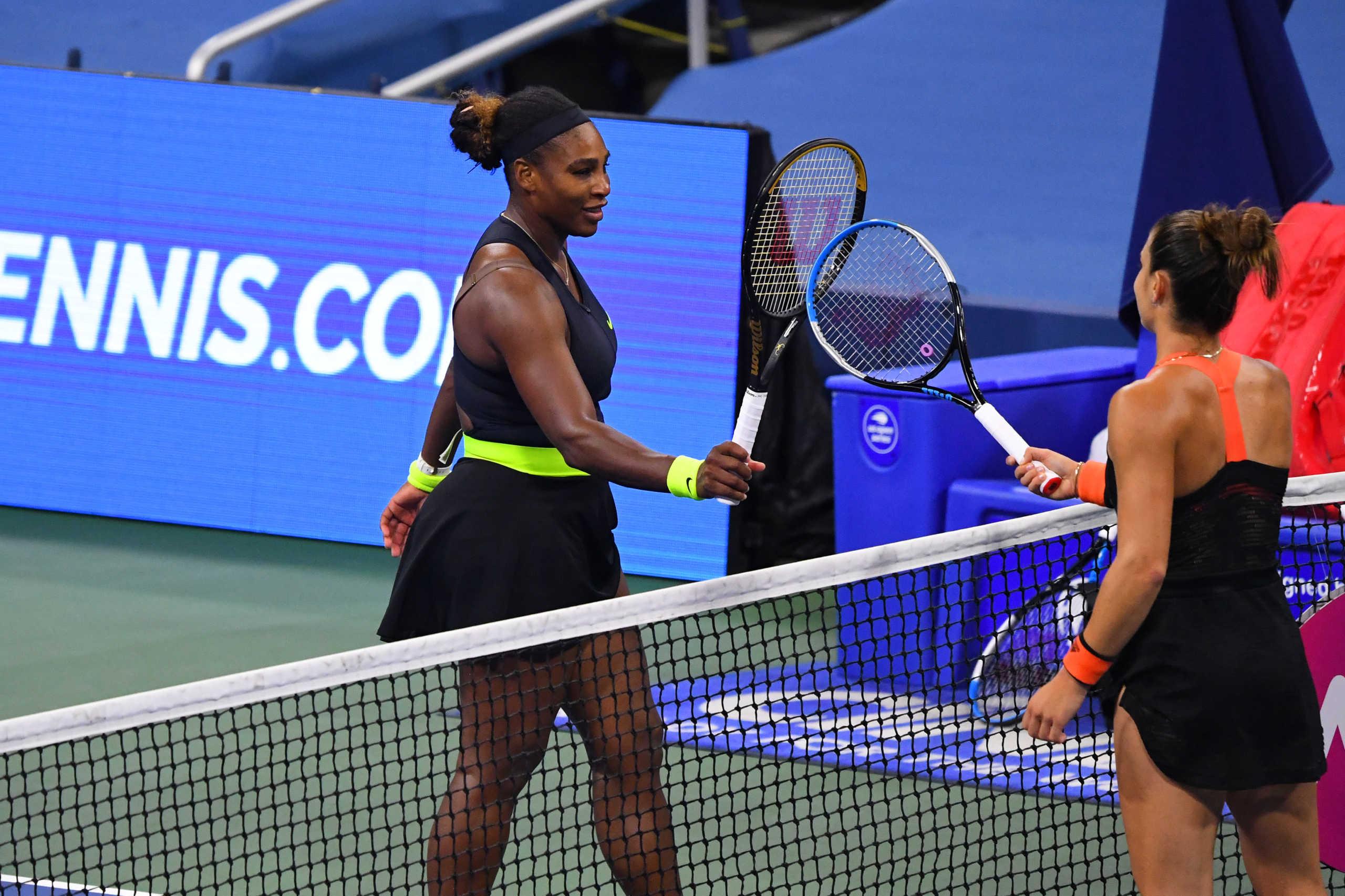 """US Open: Η Σερένα Γουίλιαμς στο δρόμο της Σάκκαρη για τους """"8""""!"""