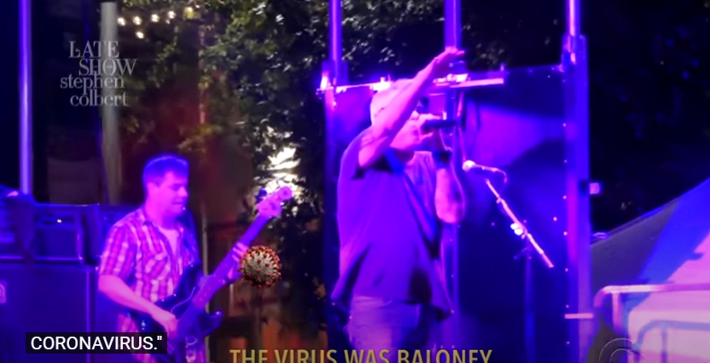 Μηνύματα μίσους στους Smash Mouth – Κόλλησαν κορονοϊό σε συναυλία τους (video)