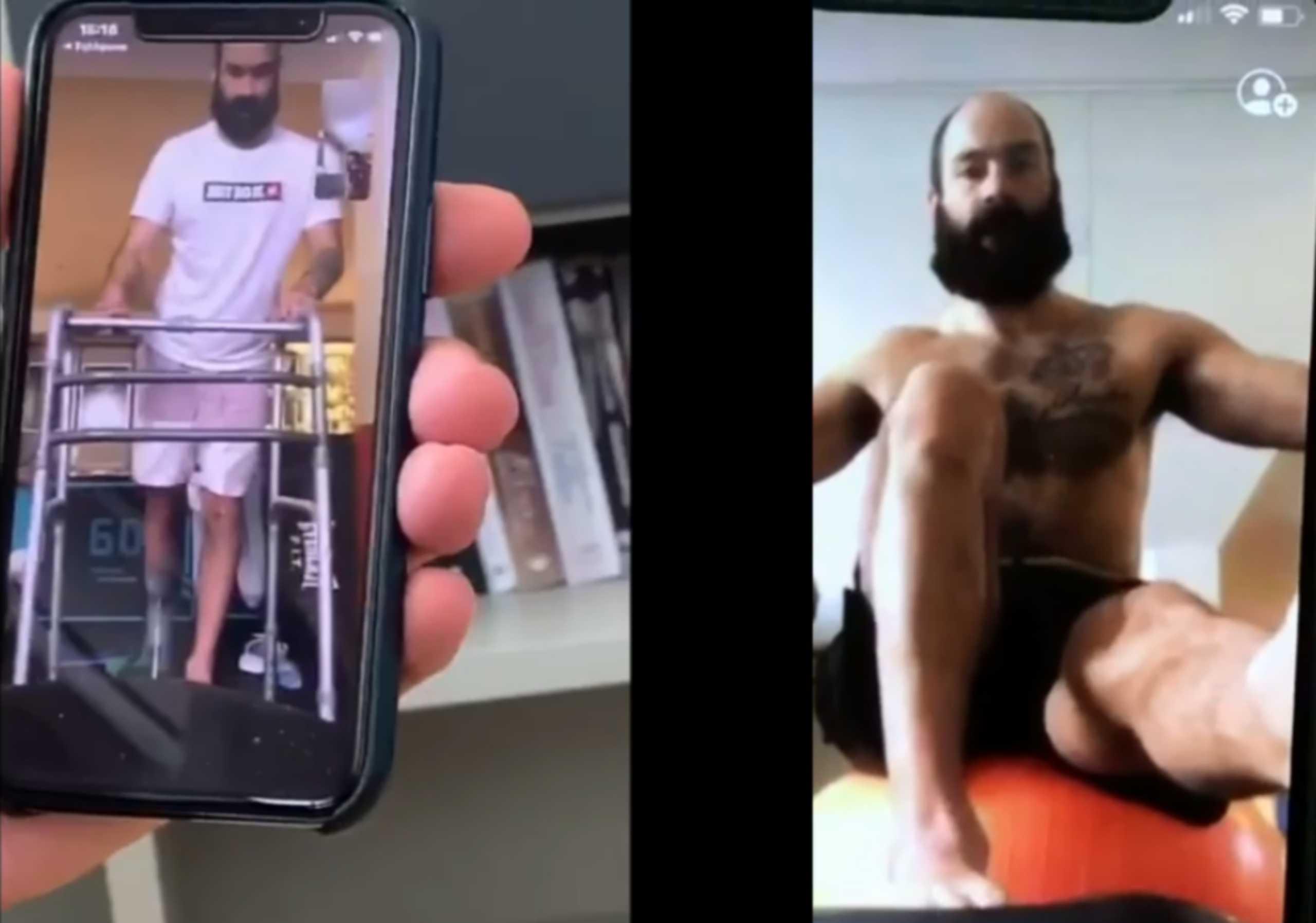 Τρομερό video: Βήμα βήμα η επάνοδος του Σπανούλη από τον τραυματισμό