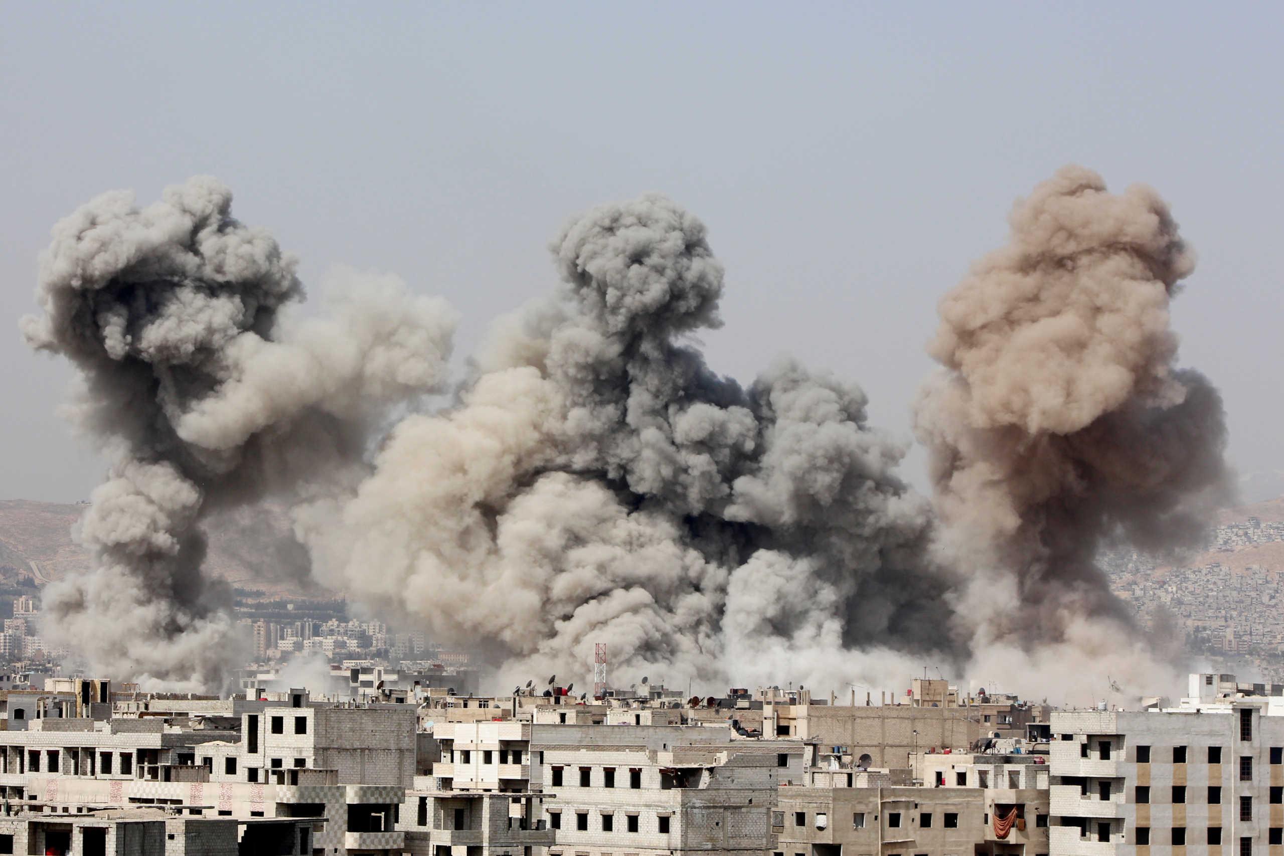 Βυθισμένη στο σκοτάδι η Συρία από έκρηξη σε αγωγό αερίου