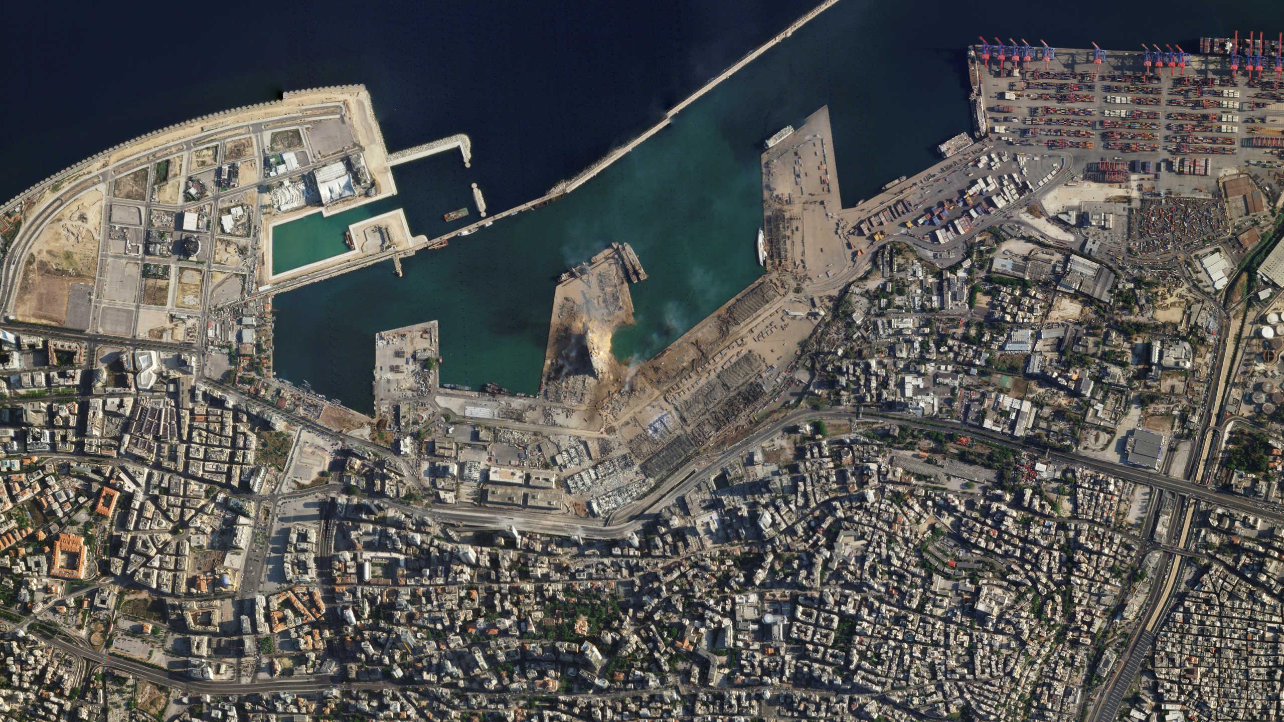 Βηρυτός: Κρατήρας 43 μέτρων από τις κολοσσιαίες εκρήξεις! Παραιτήθηκε ο υπουργός ενημέρωσης