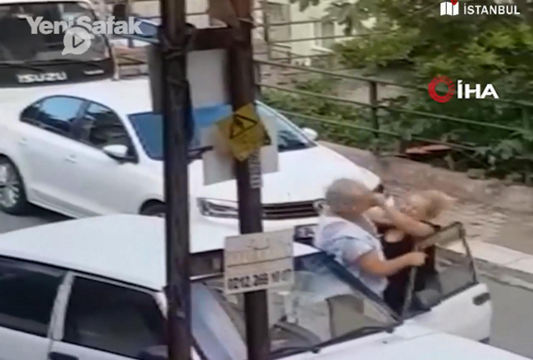Άγριο ξύλο στην Κωνσταντινούπολη: Την χαστούκισε αλλά εκείνη ήξερε Τάε Κβον Ντο! Video