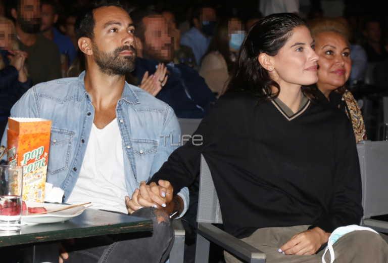 Σάκης Τανιμανίδης - Χριστίνα Μπόμπα: Χέρι χέρι στο θέατρο! Φωτογραφίες