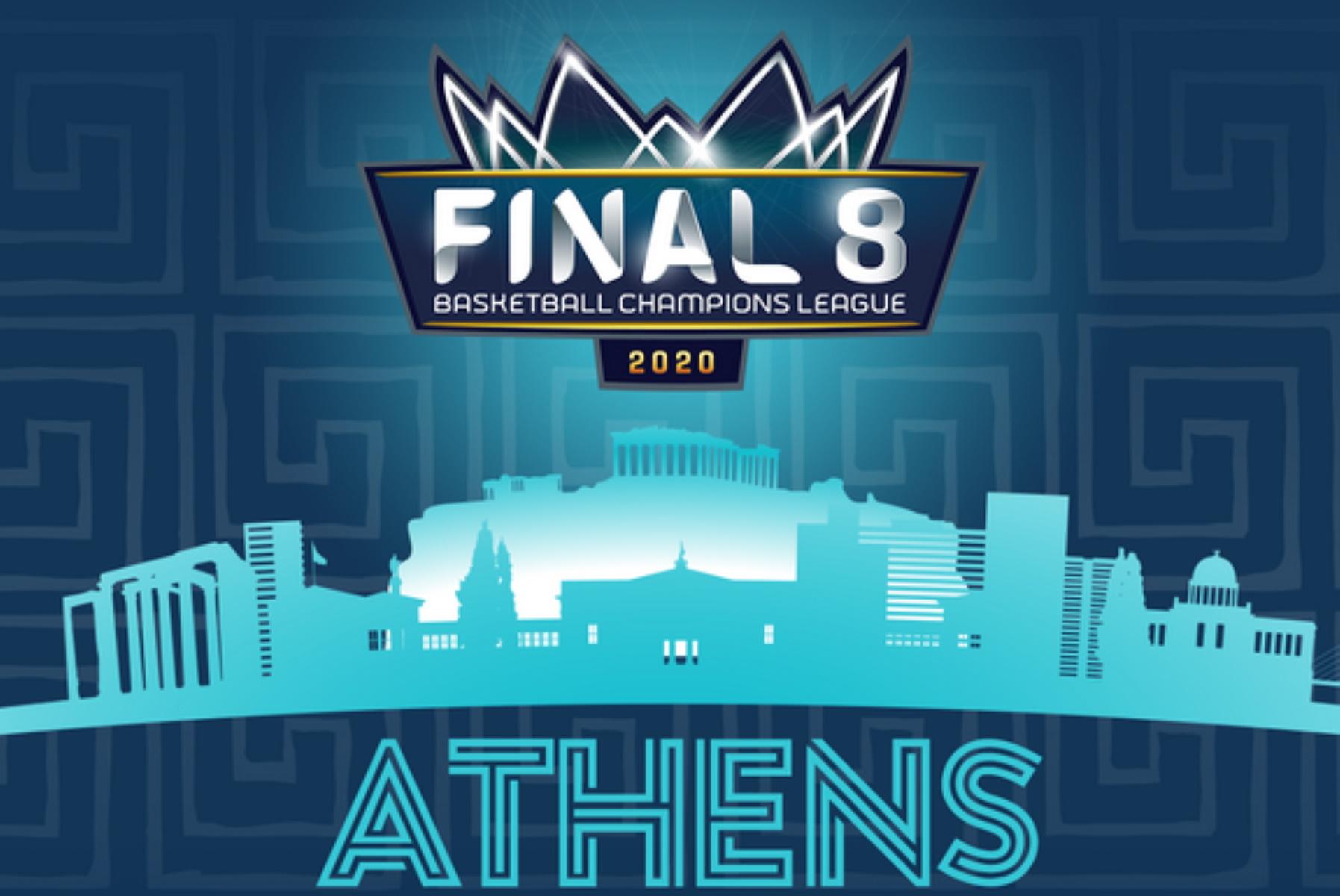 Basketball Champions League: Παραμένει στο ΟΑΚΑ το Final 8