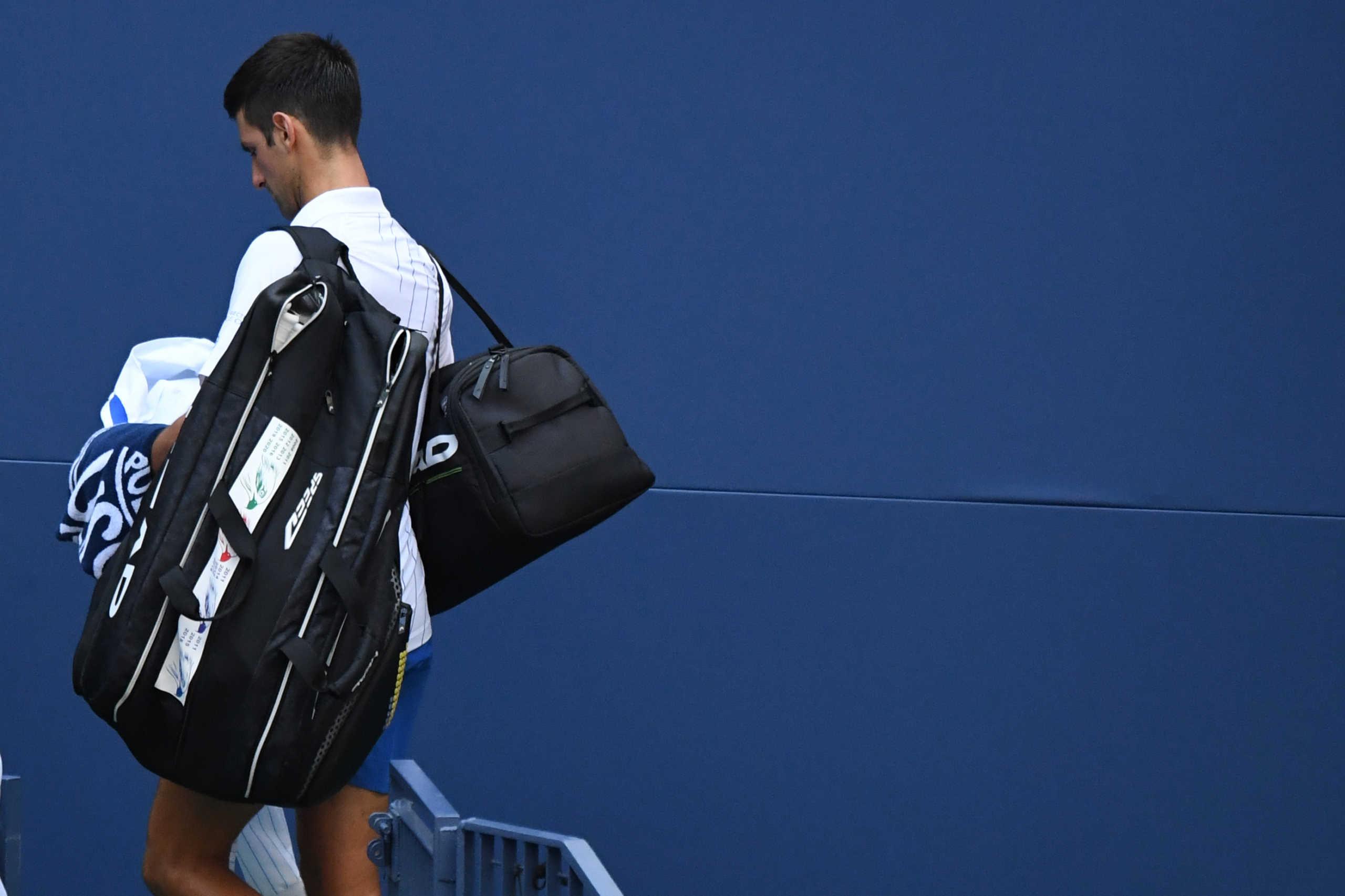 US Open: Αφαίρεση βαθμών και χρηματικού επάθλου για τον Τζόκοβιτς παρά τη συγγνώμη