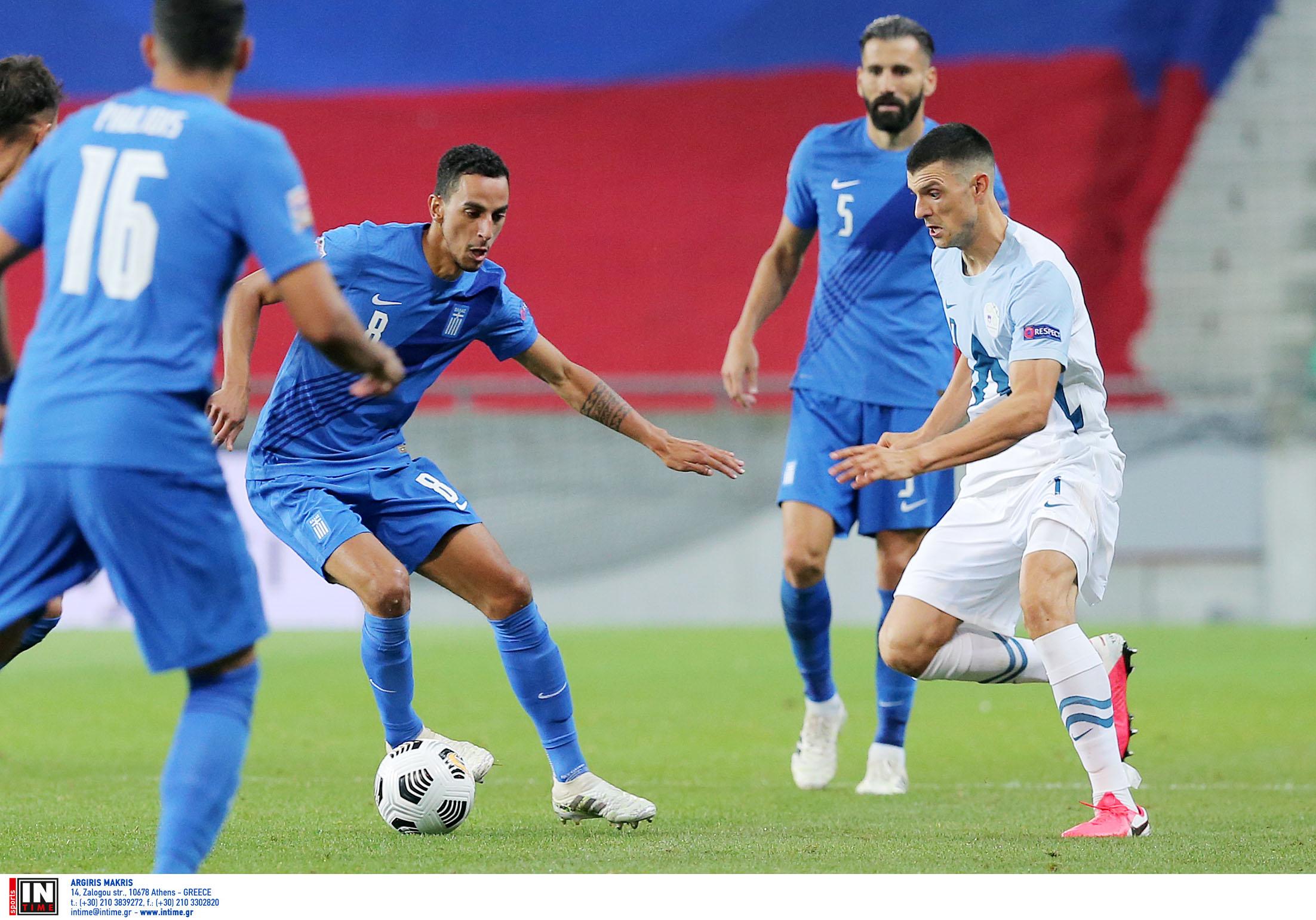 """Κόσοβο – Ελλάδα: Με μόνο στόχο την πρώτη νίκη στο Nations League η """"γαλανόλευκη"""""""