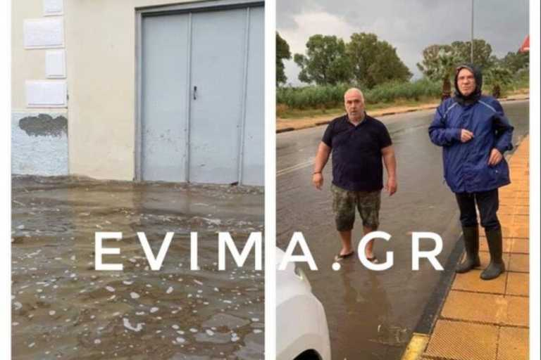 Ιανός: Πλημμύρισε και η Ερέτρια (pics)