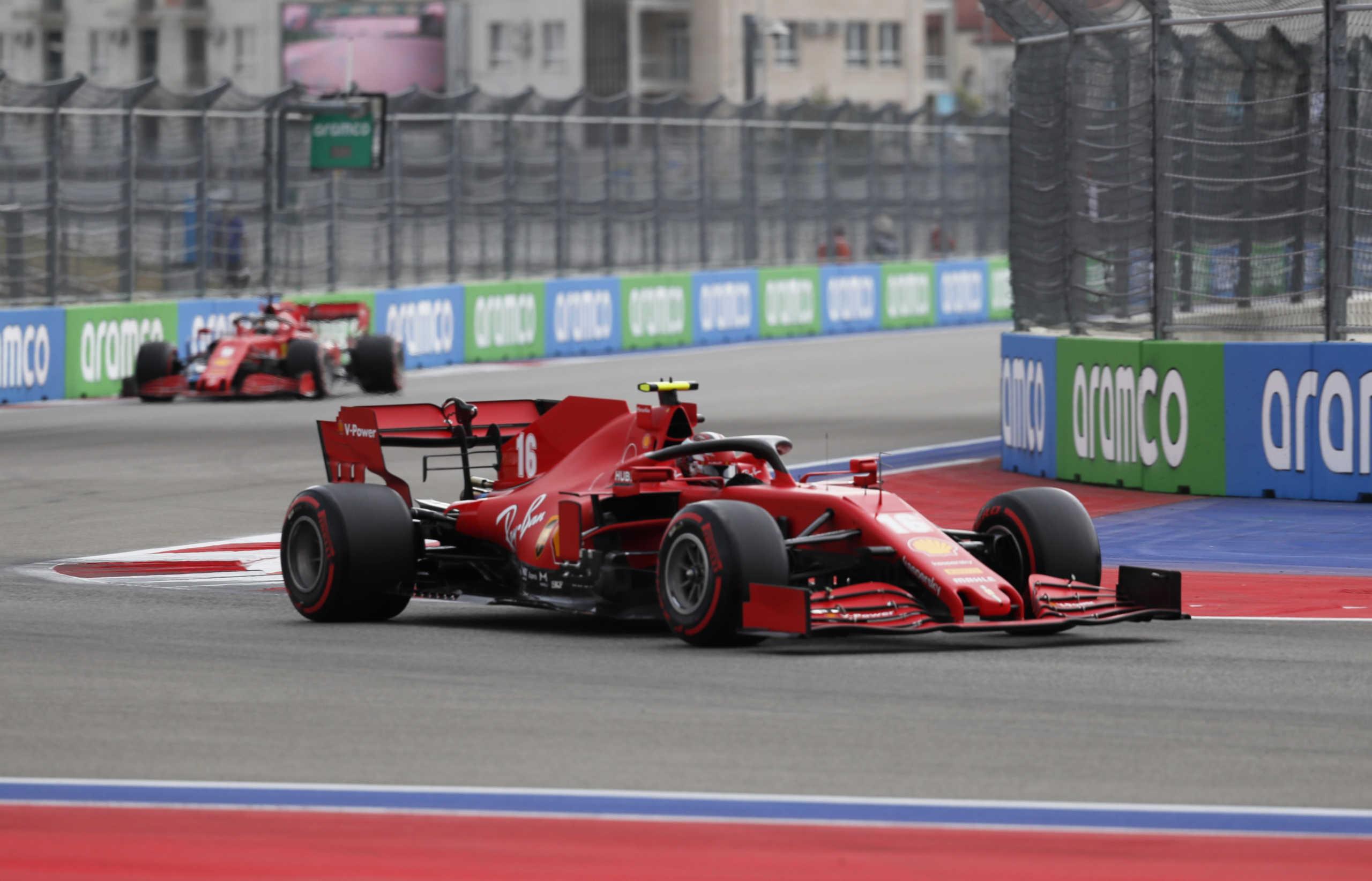 Formula 1: Τραγέλαφος ξανά η Ferrari! O Φέτελ διέλυσε το μονοθέσιό του και παραλίγο να τρακάρει με τον Λεκλέρκ (video)